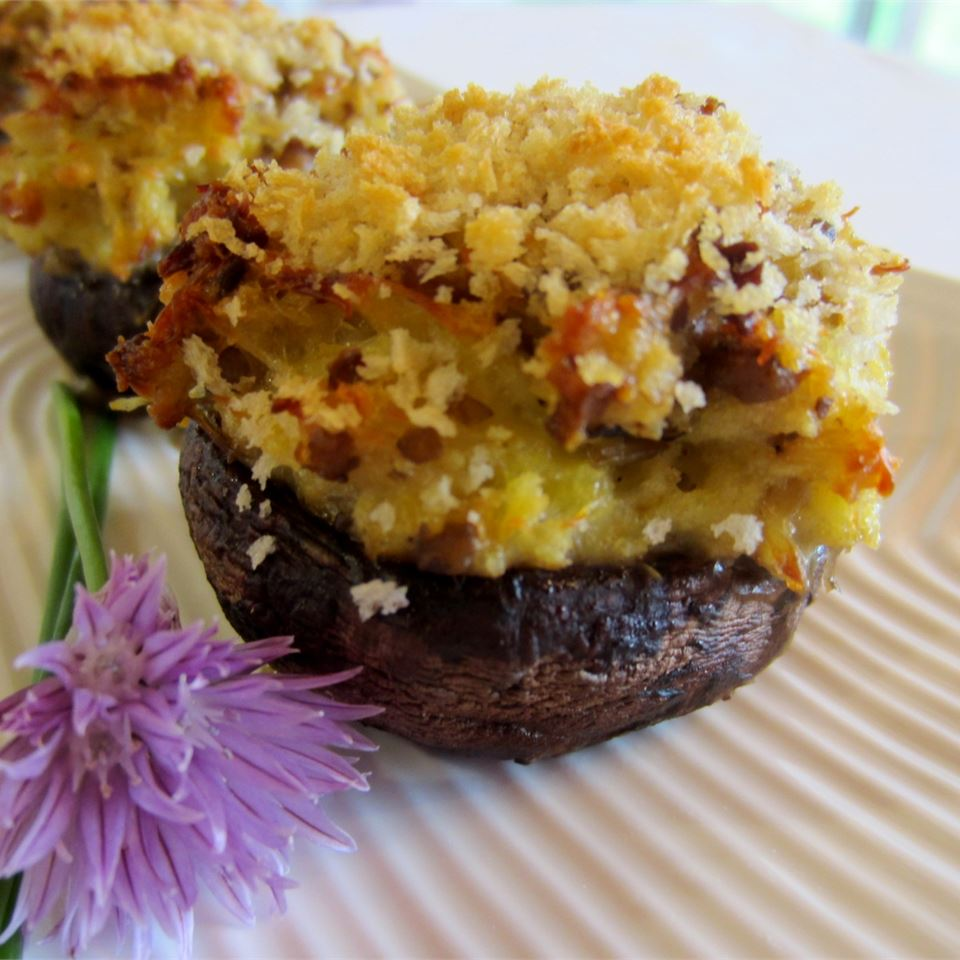 Crab Stuffed Mushrooms I