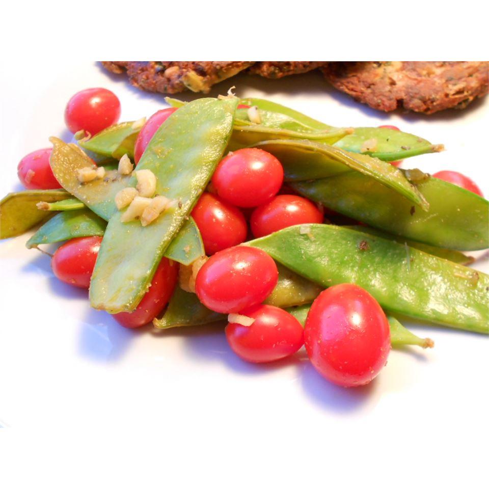 Cherry Tomato Snap Peas kellieann