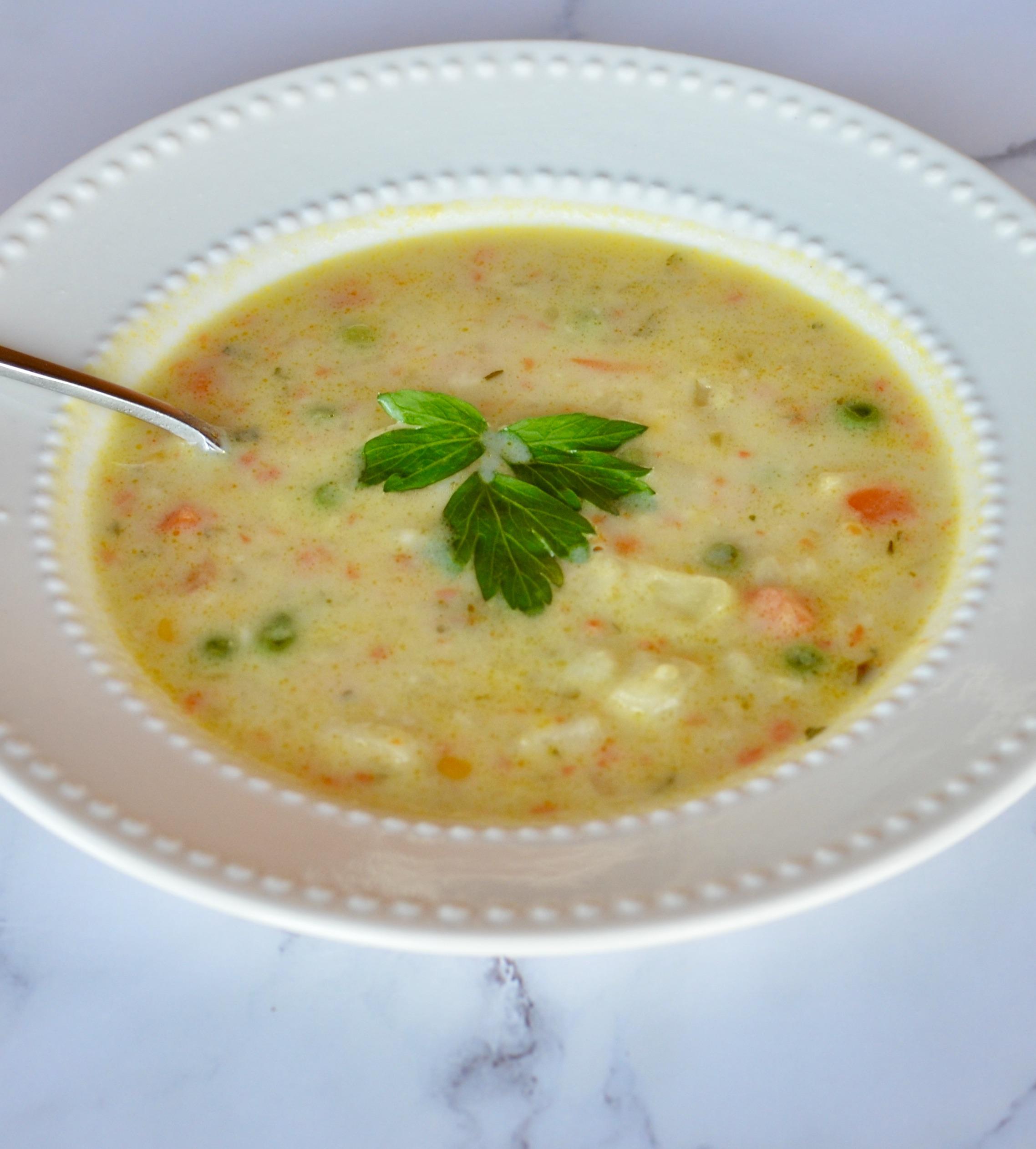 Ian's Potato-Vegetable Soup