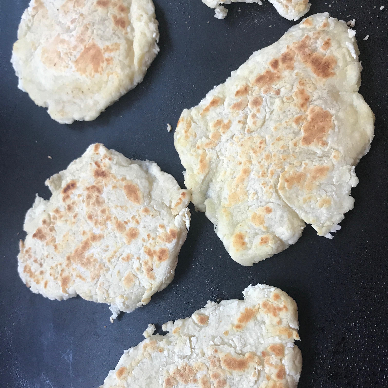 Two-Ingredient Naan Melissa Luebbe