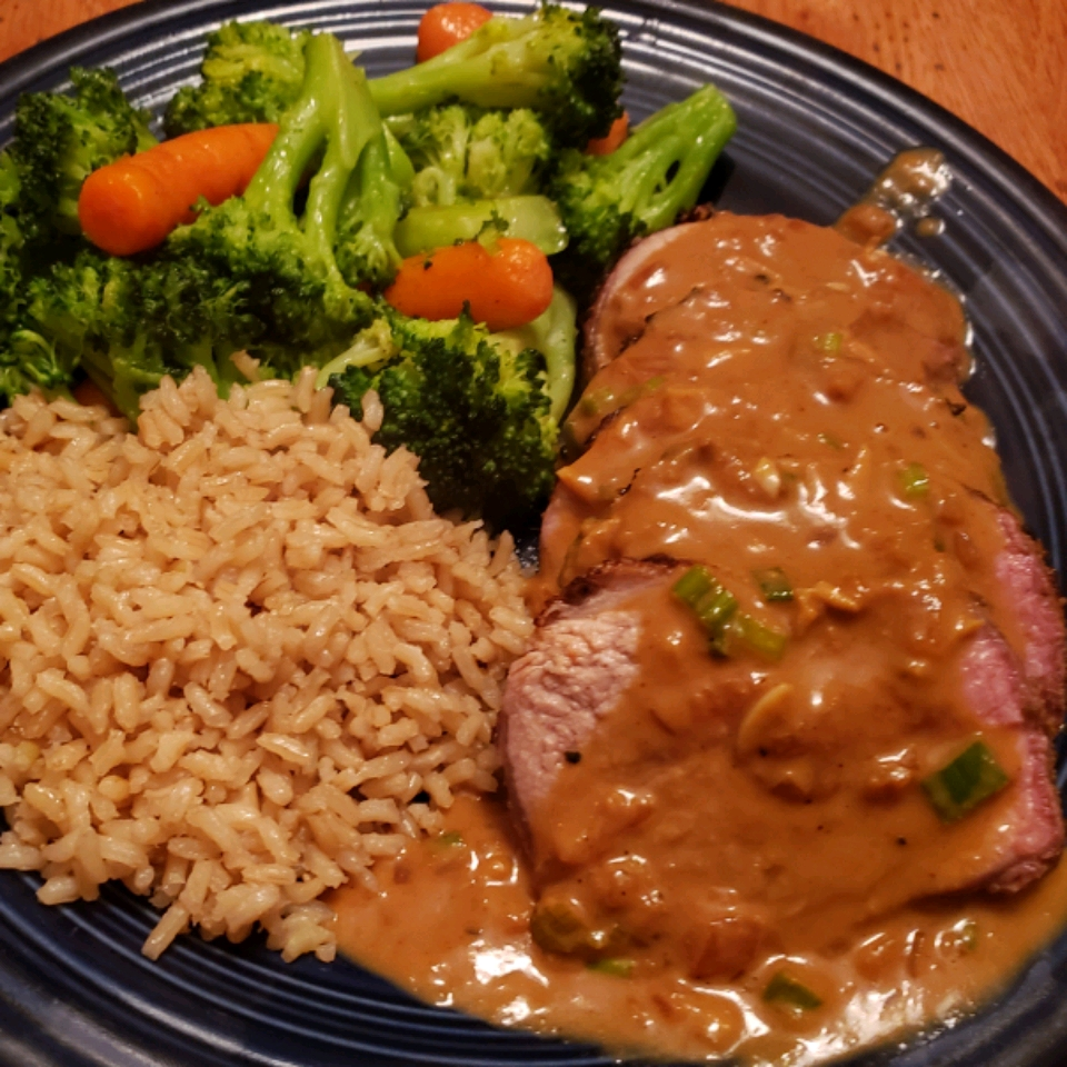 Pork Tenderloin Diablo
