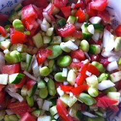 Fava Bean Salad Cherie Smada