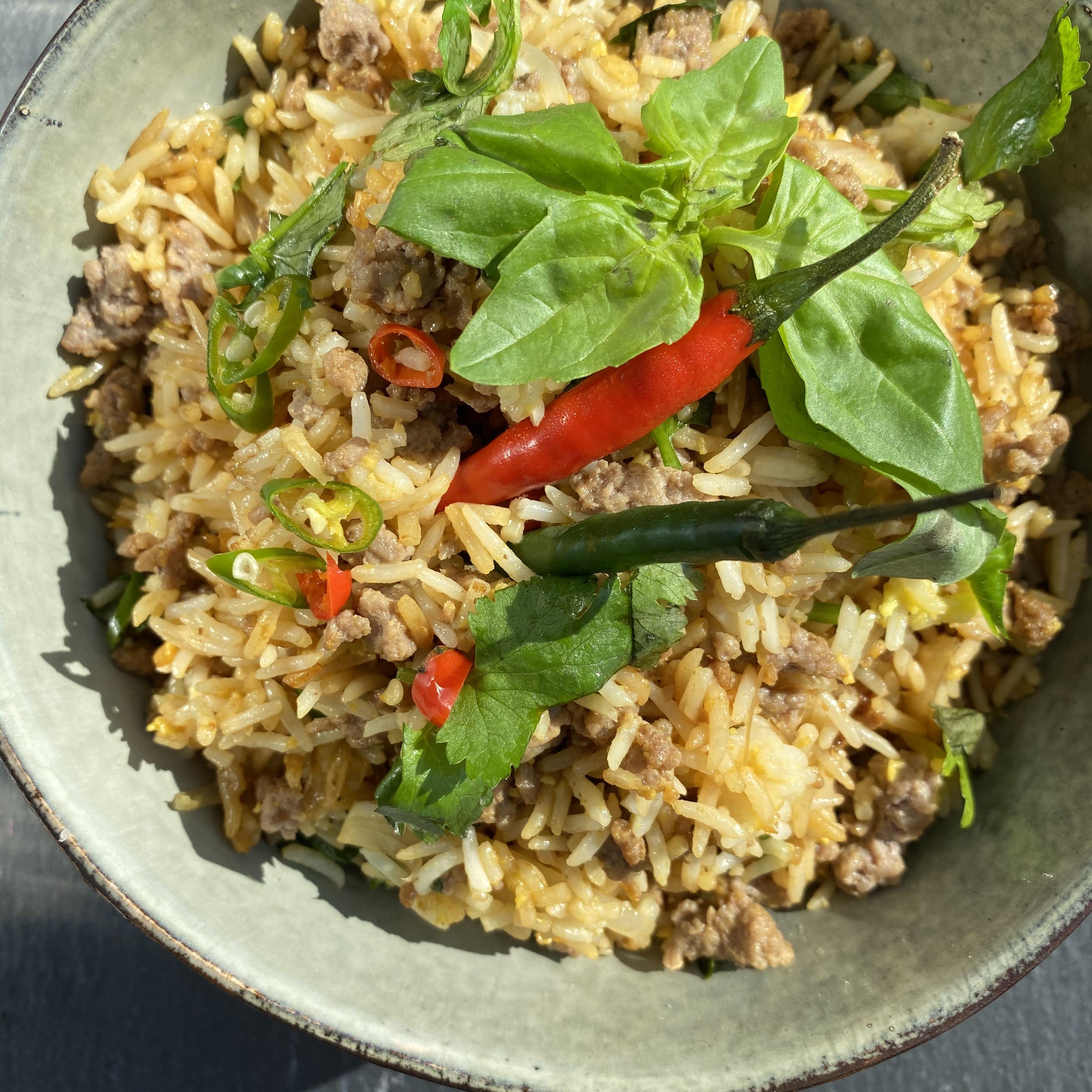 Thai-Inspired Beef Fried Rice Buckwheat Queen