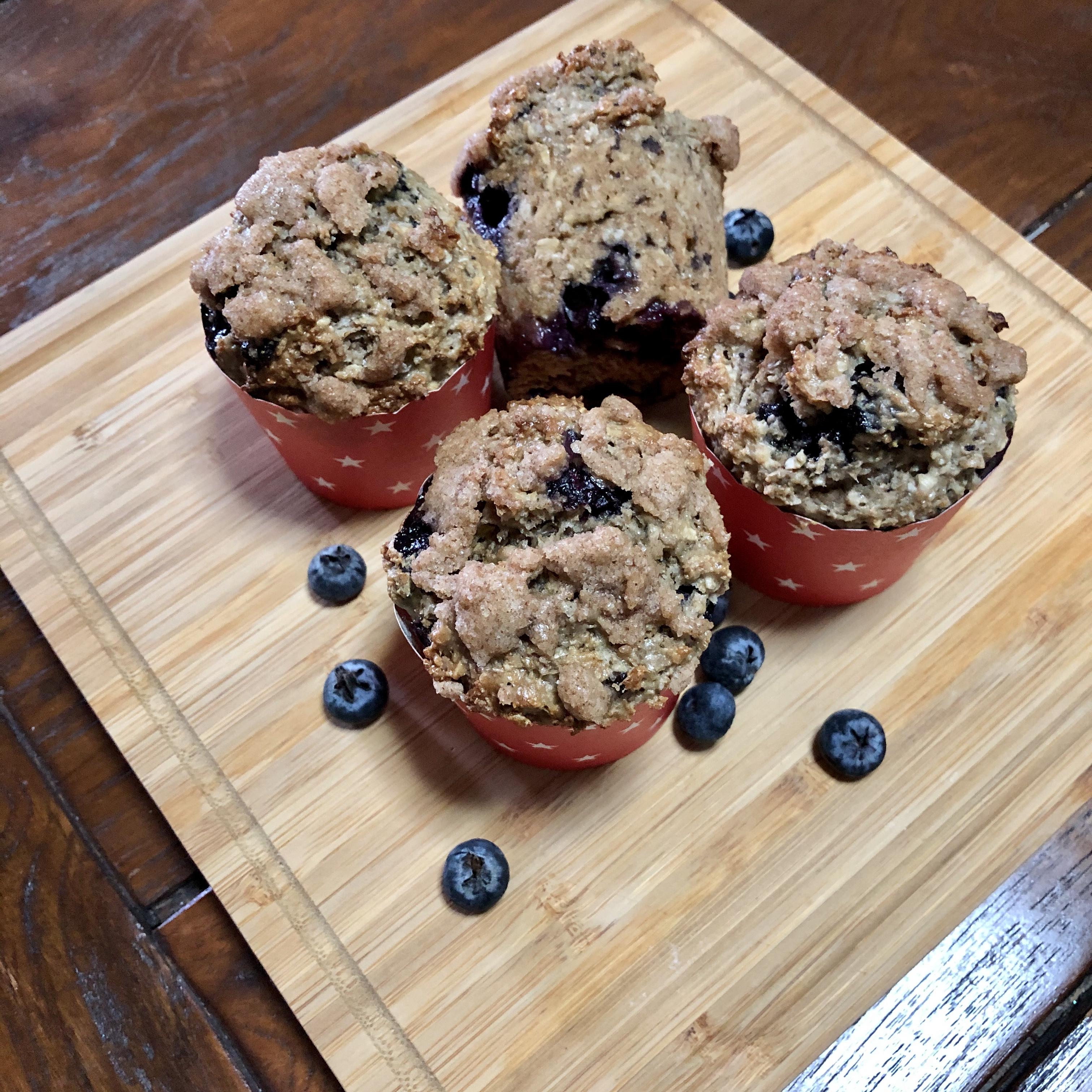 Eggless Whole Wheat Muffins jinx