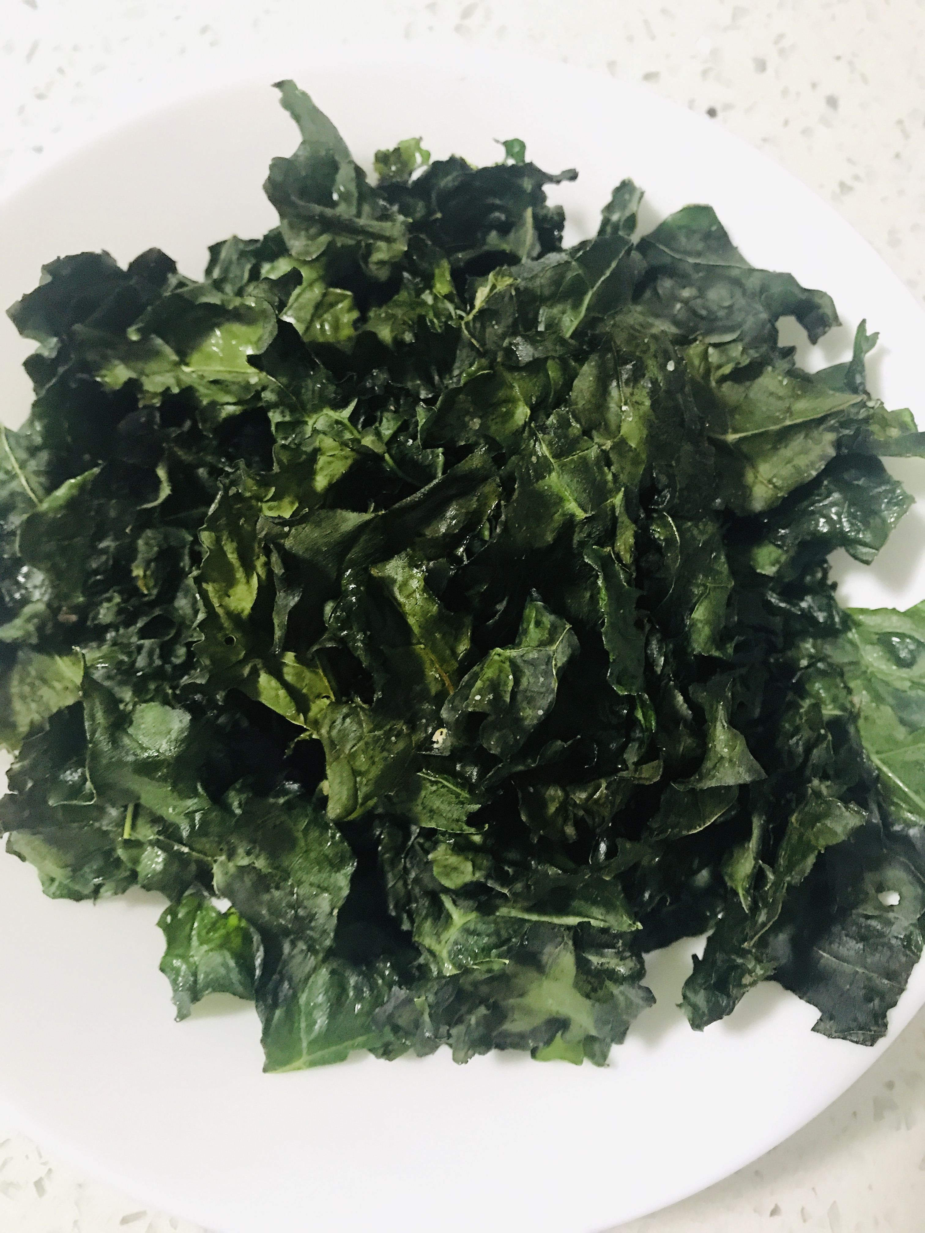 Baked Kale Chips Yeolie Loey Park