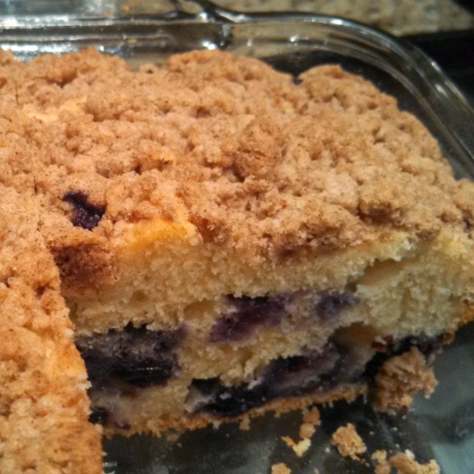 Sugar Free Blueberry Coffee Cake McMommy