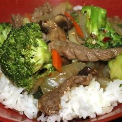 Hot and Tangy Broccoli Beef Marisa R.