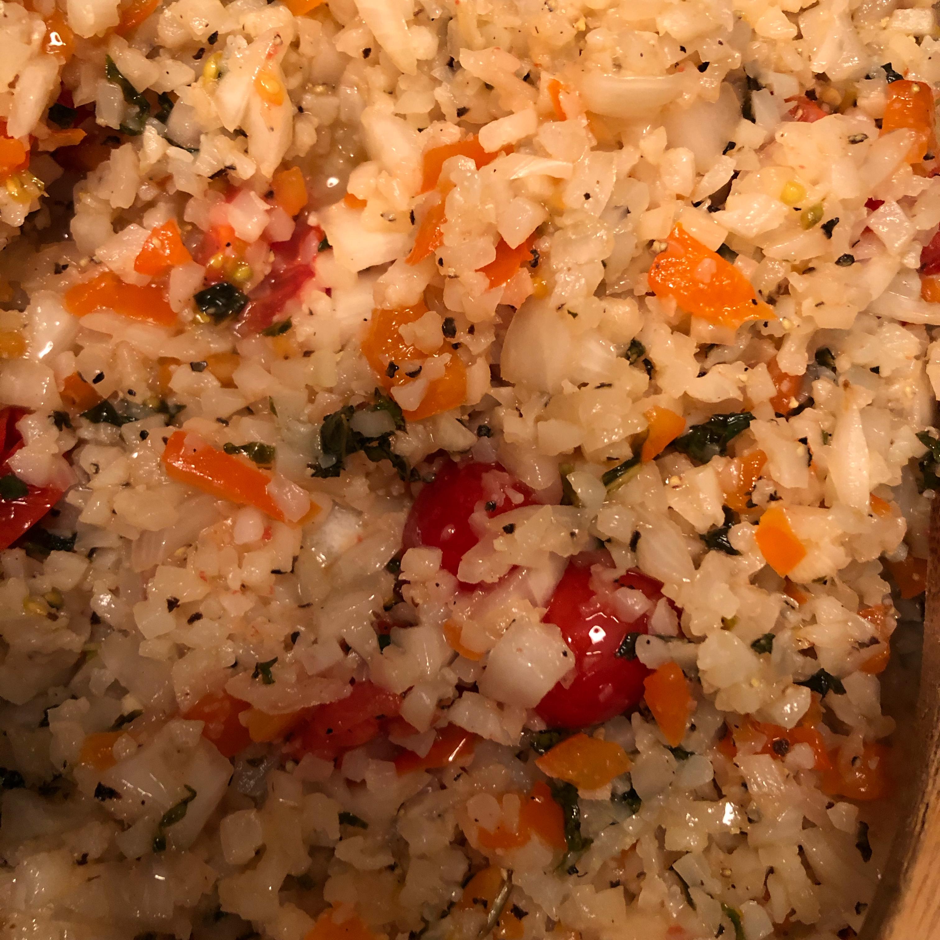 Paleo Greek 'Rice' Tammy Johnson