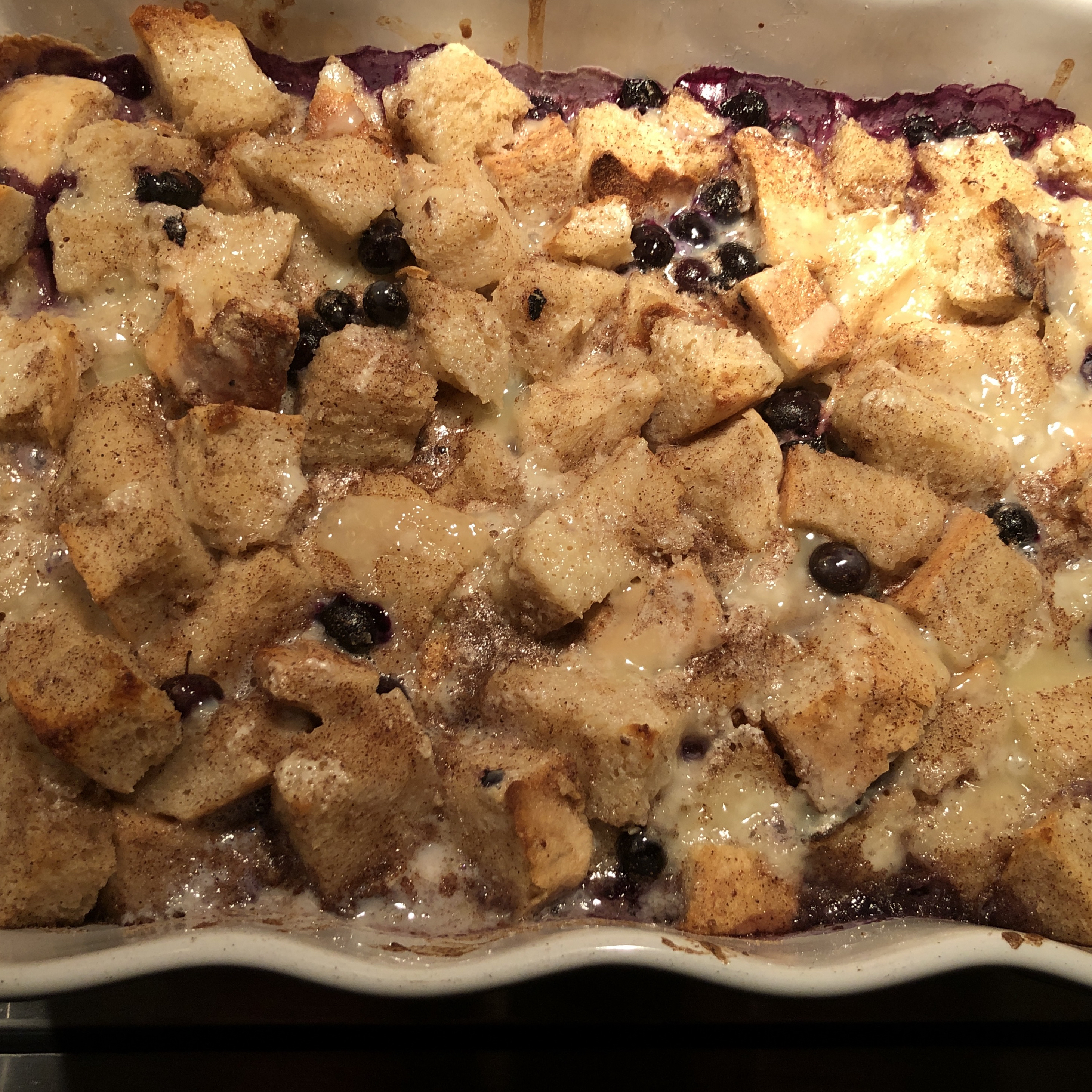 Beth's Blueberry Bread Pudding Gary Roush