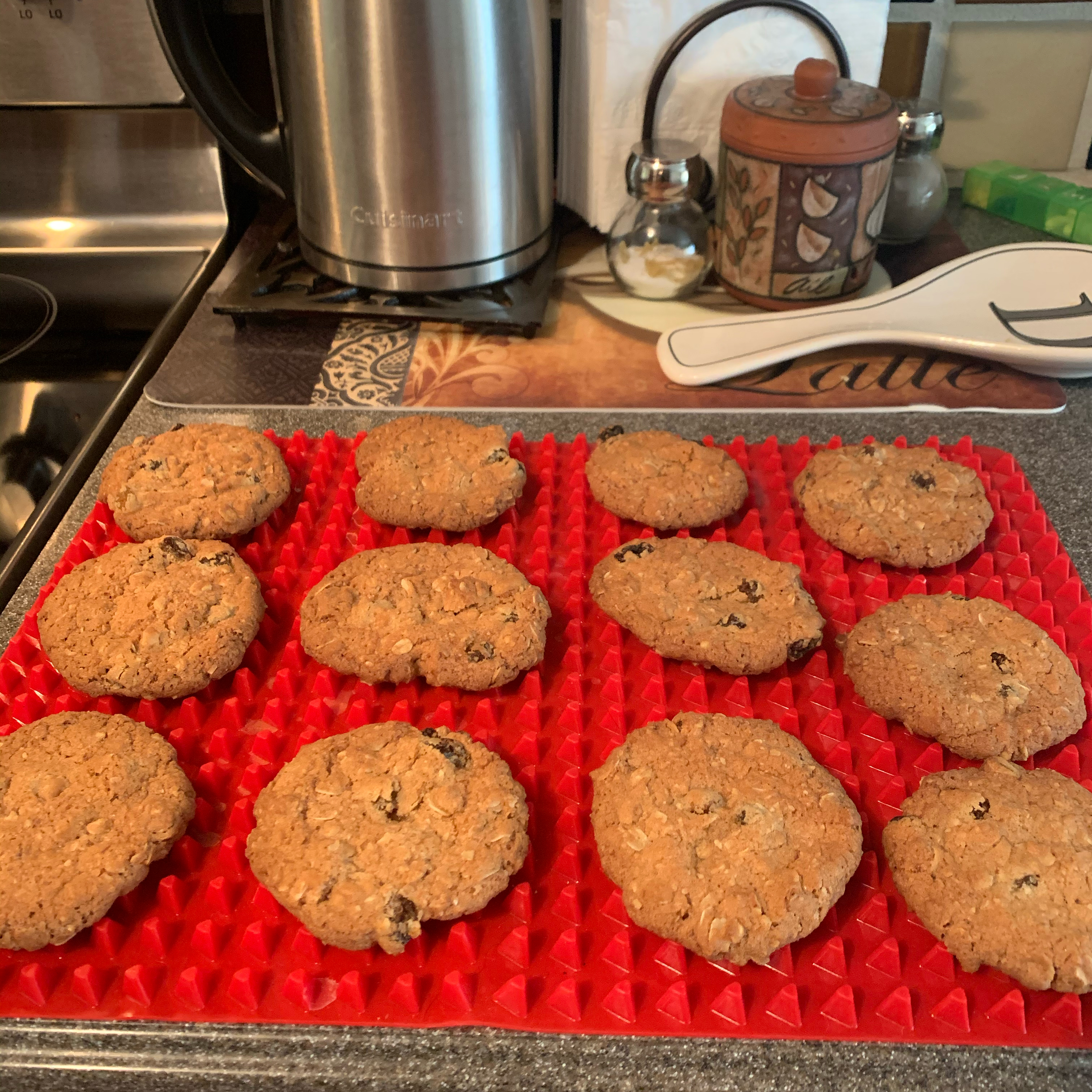 Crisp Oatmeal Cookies Denise J Washington