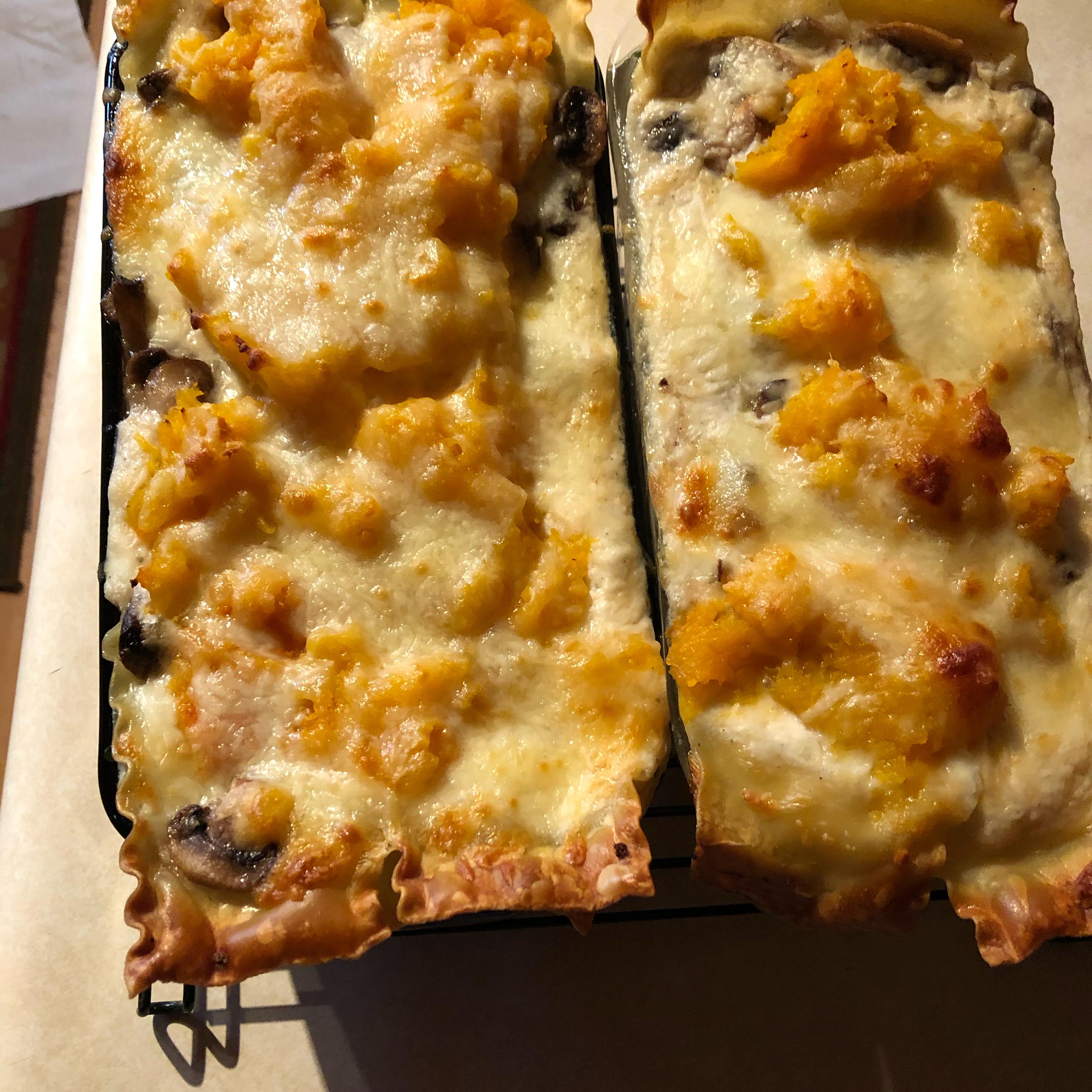 Butternut Squash Lasagna Joy