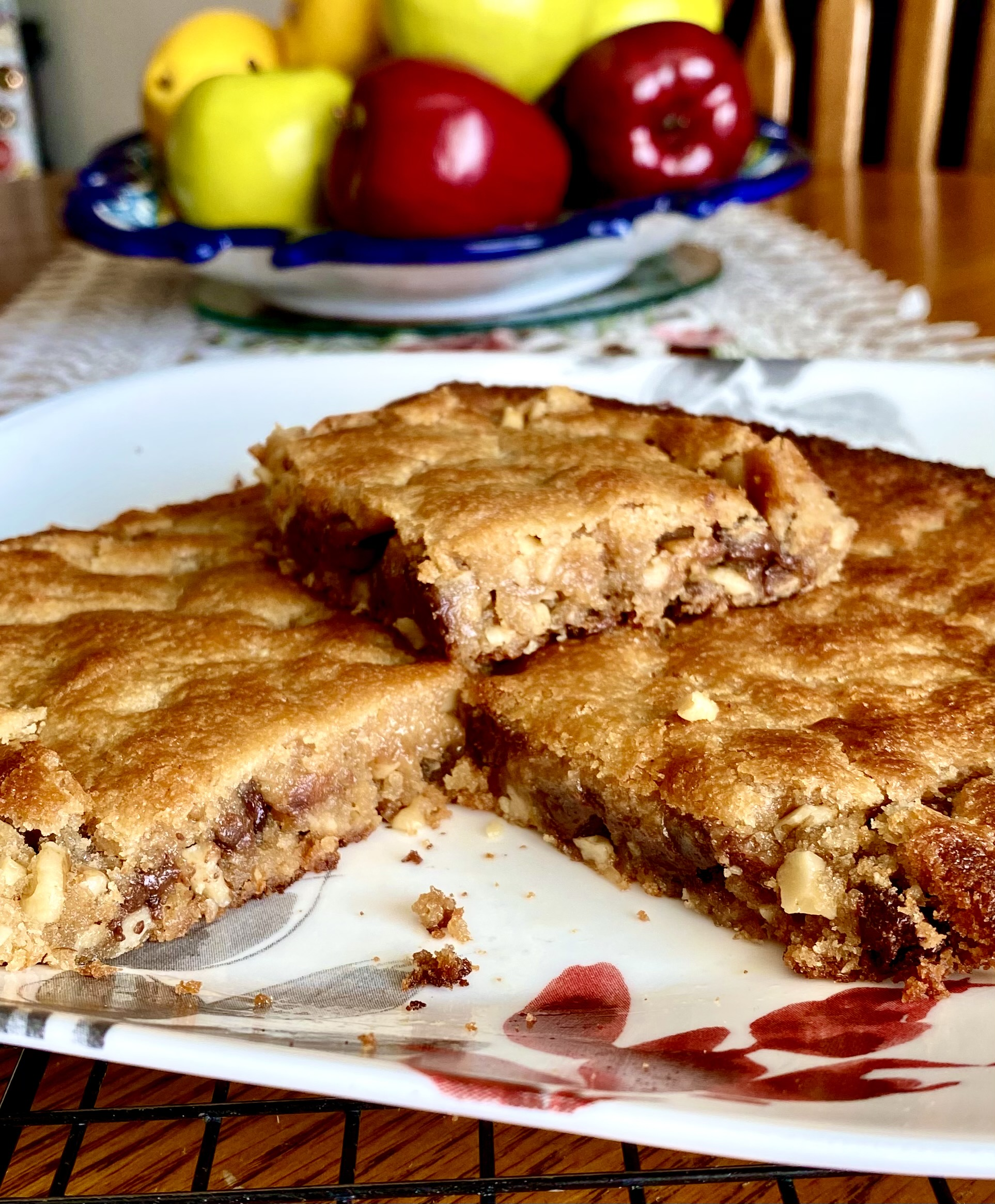 Peanut Butter Nut Brownies
