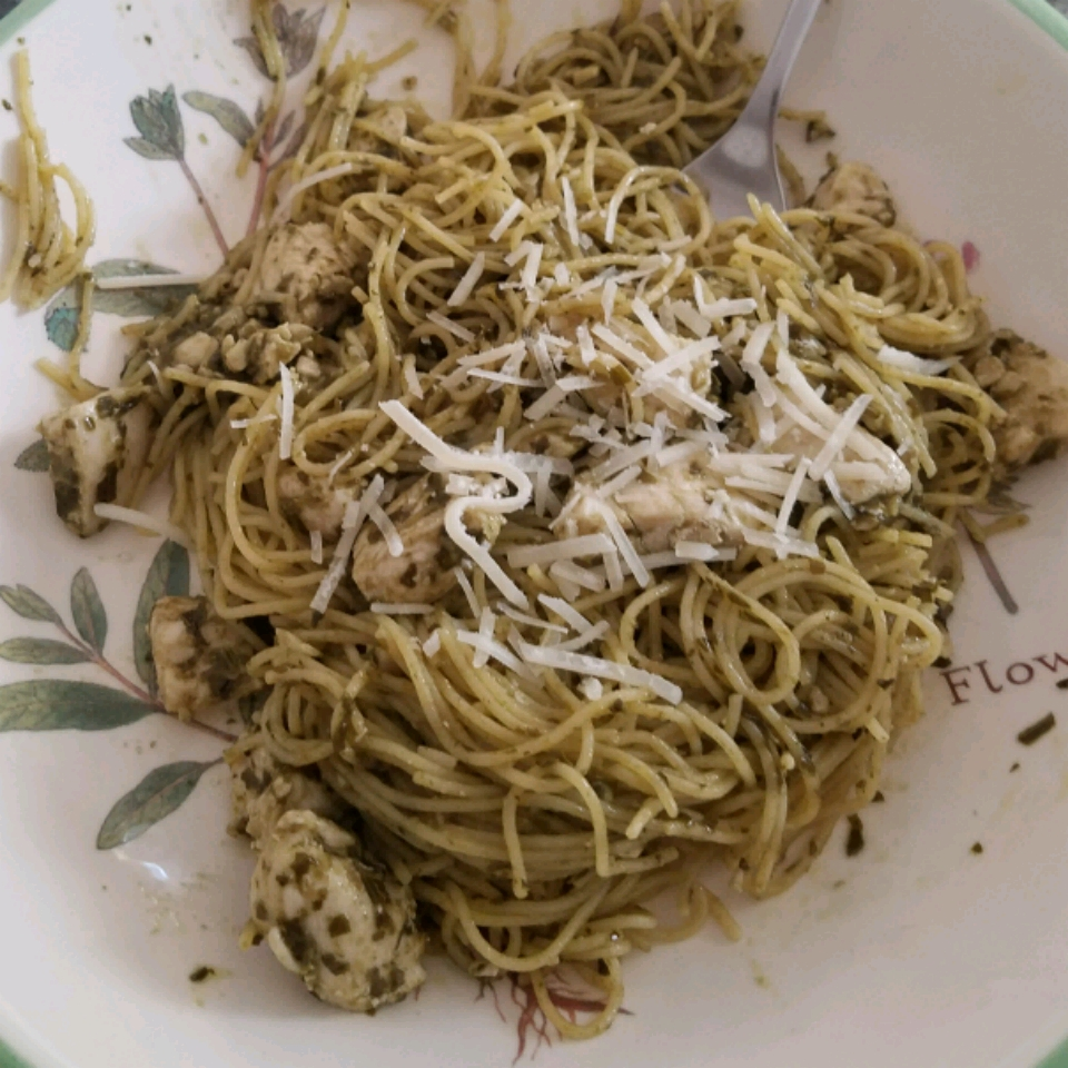 Grilled Chicken and Angel Hair Pasta jrwagner