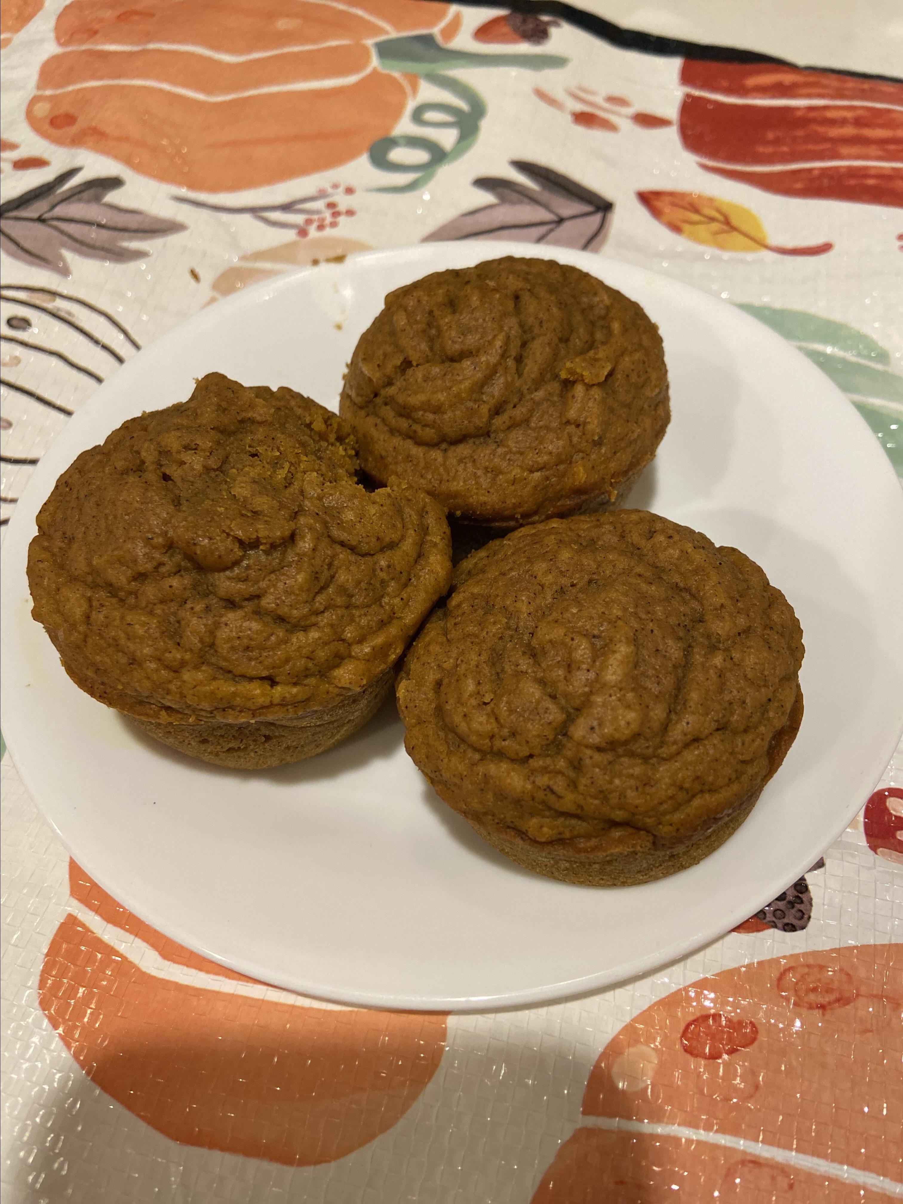 Perfect Pumpkin Muffins wendy