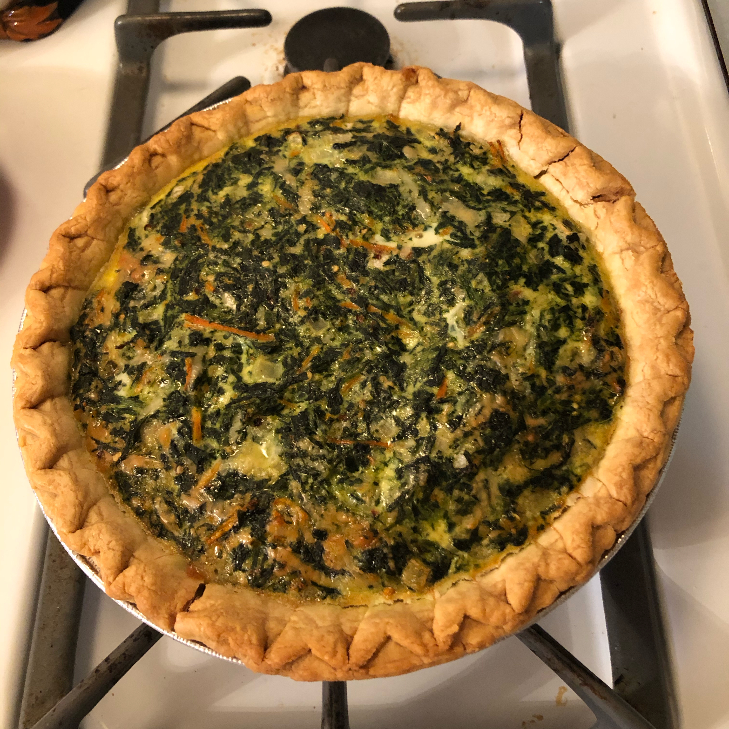 Spinach and Carrot Quiche jselmo74