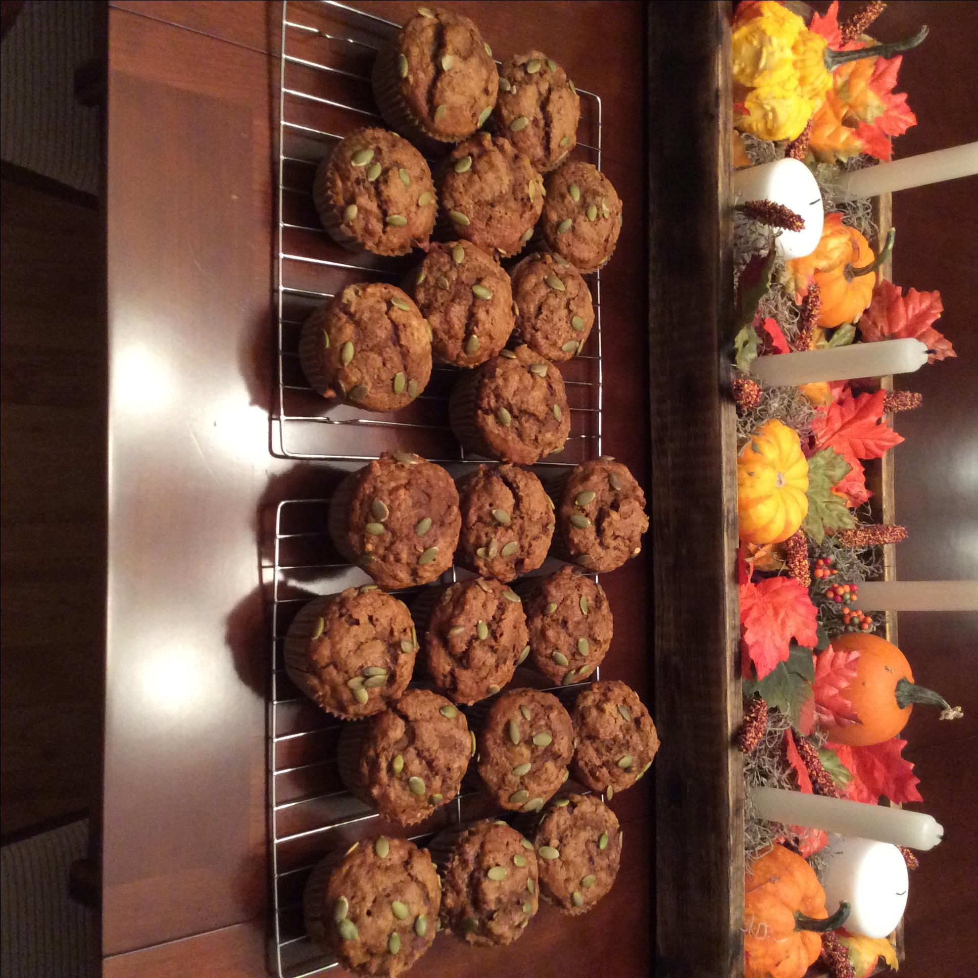 Pumpkin Spice Coffee Muffins