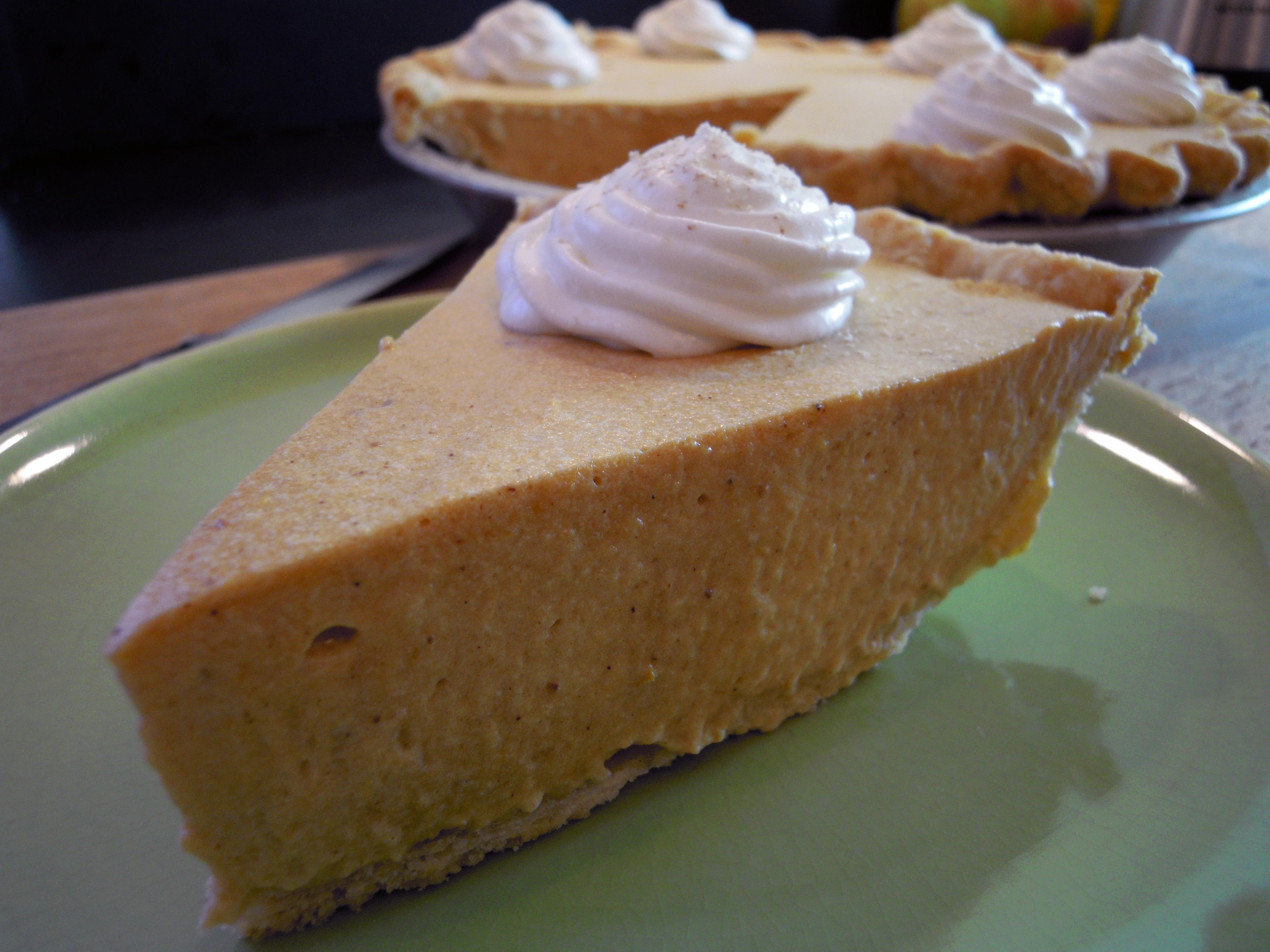 Pumpkin Bavarian Cream Tart
