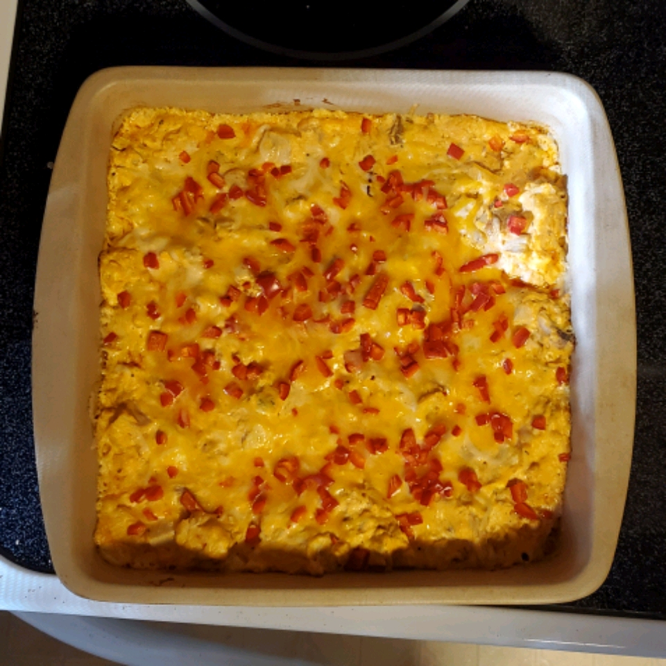 Baked Buffalo Chicken Dip