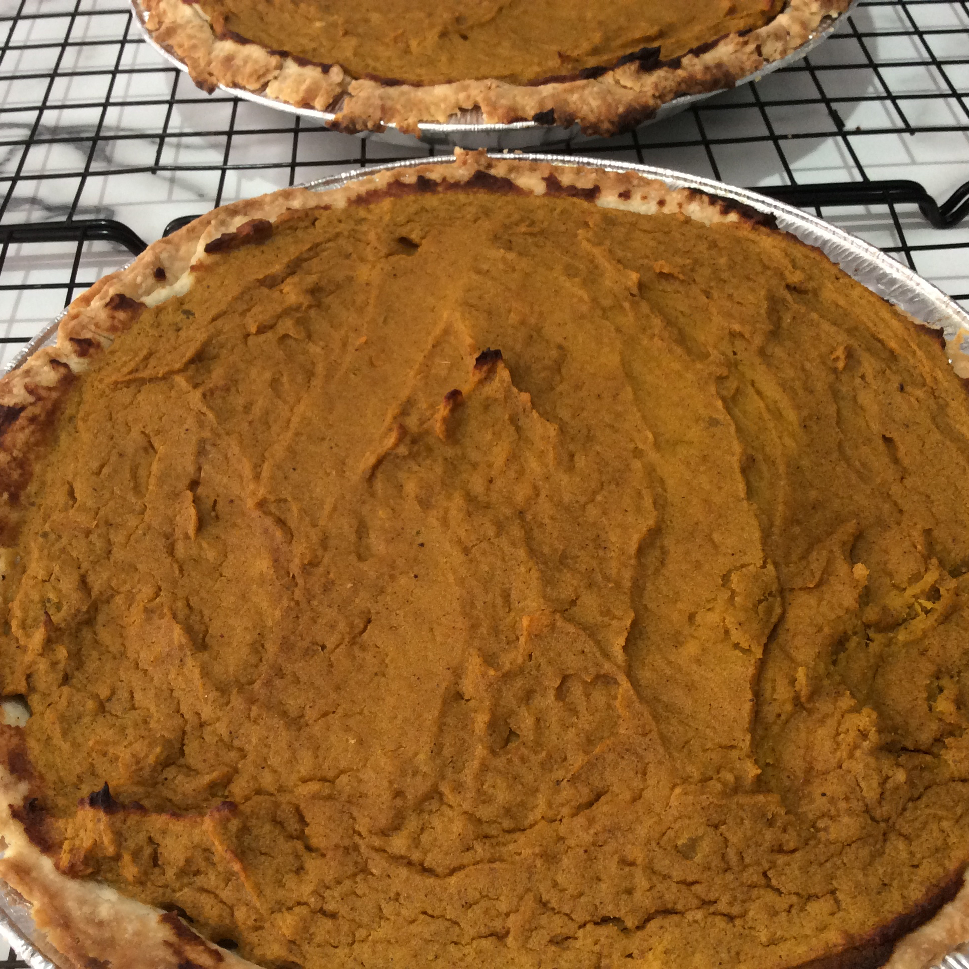 Sweet Butternut Squash Pie