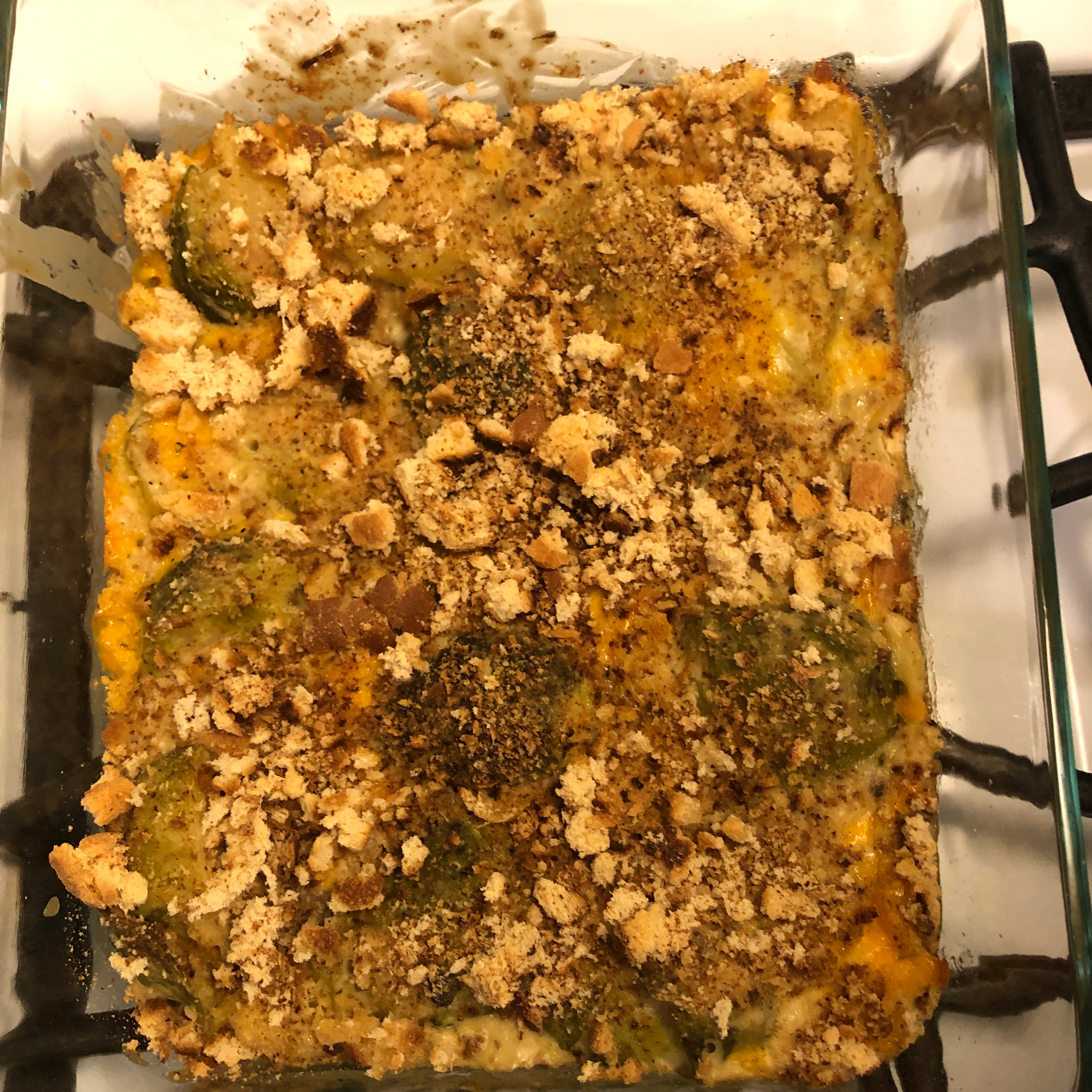 Brussels Sprouts Bake Maysa