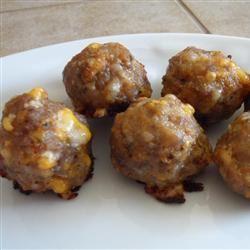 Sausage and Cheese Balls