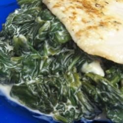 Spinach Saute Mrs.Williams