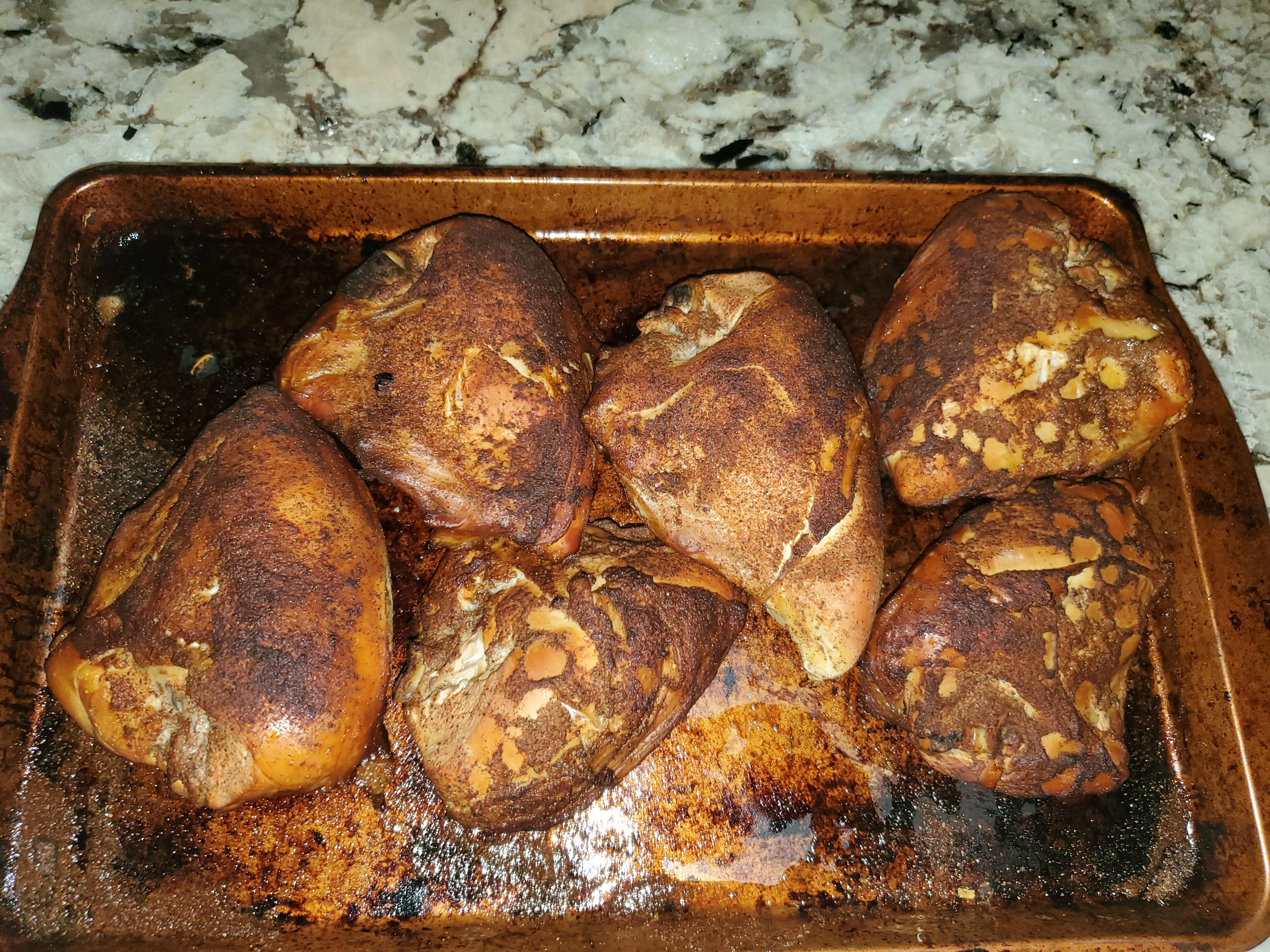 Smoked Chicken Breasts Mark Harper