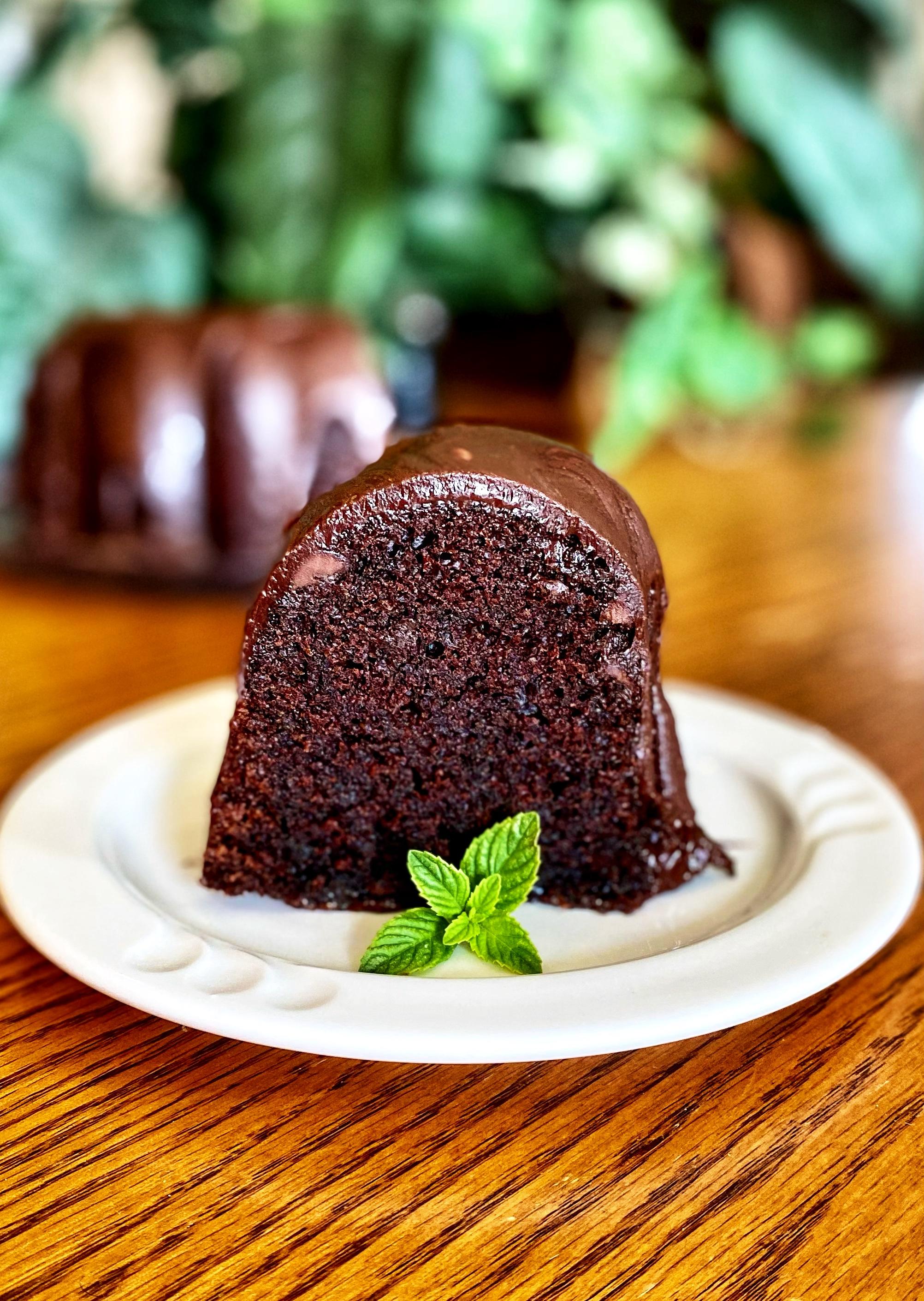 Devil's Food Brownie Cake