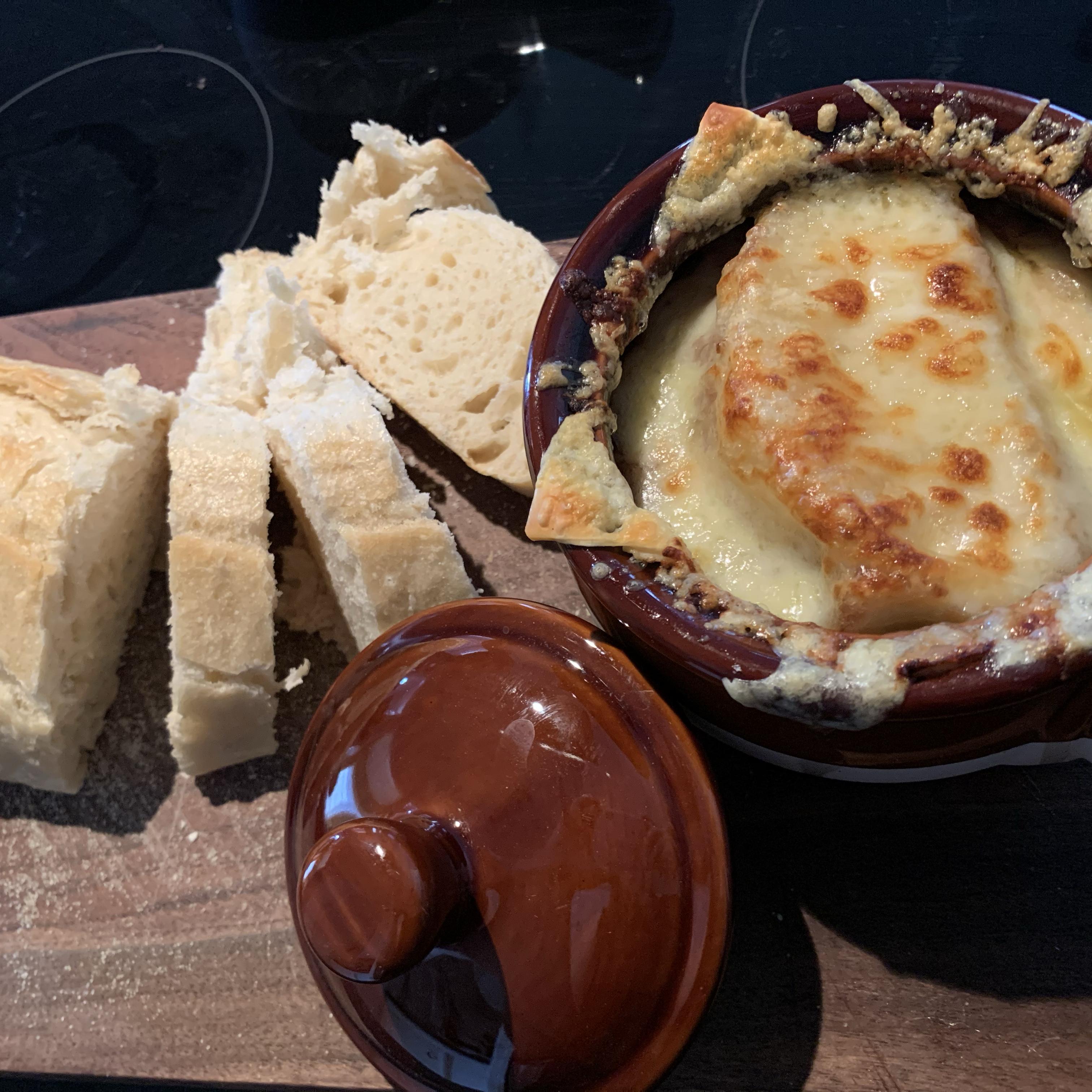 French Onion Soup Gratinee Jamie Montross