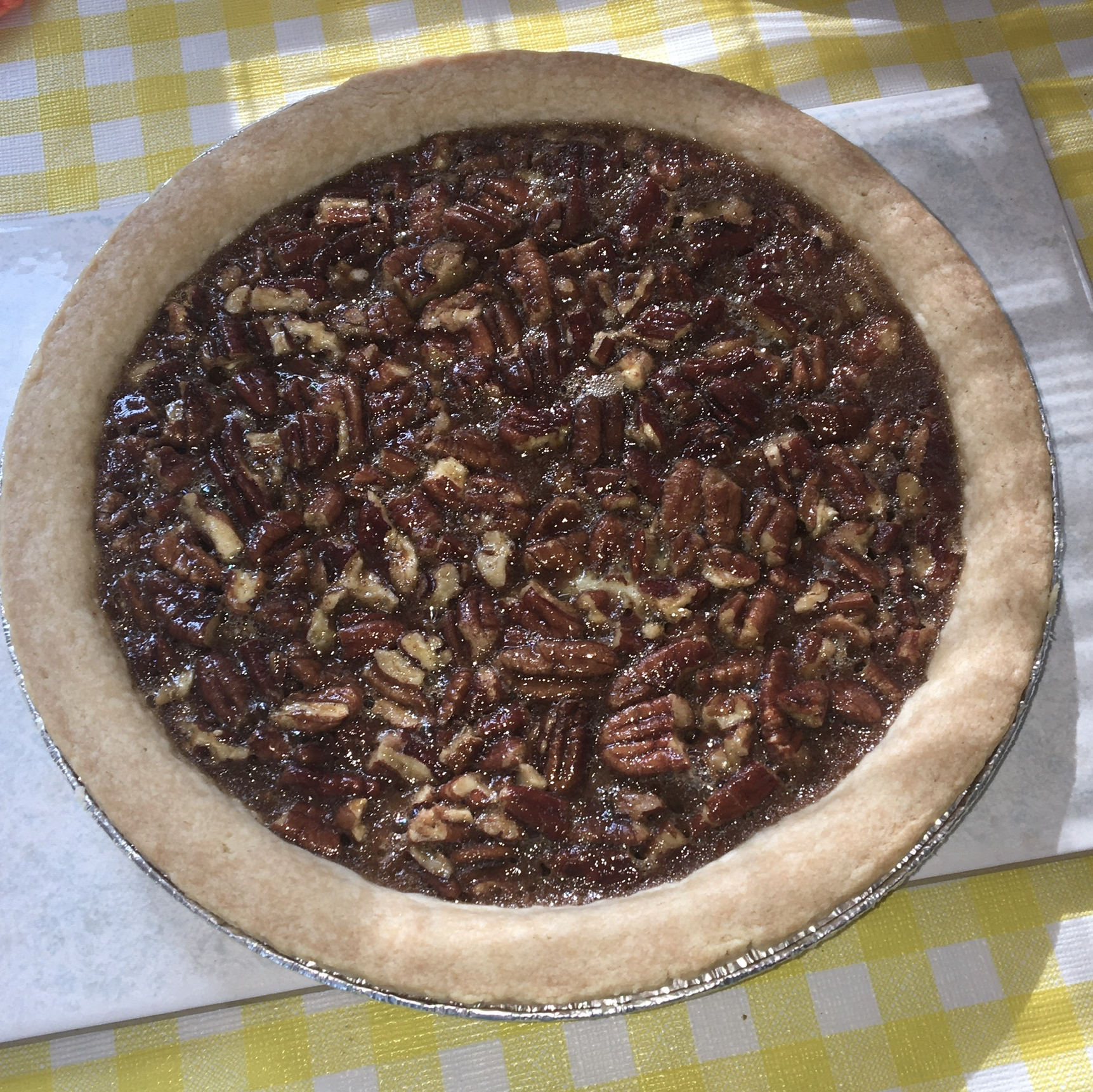 Old-Fashioned Honey Pecan Pie Anita Leigh Breau