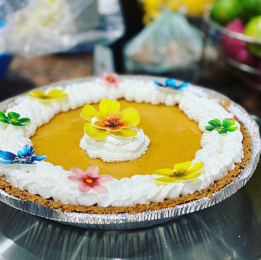 Mango Custard Pie Becky Fernandez-Hale