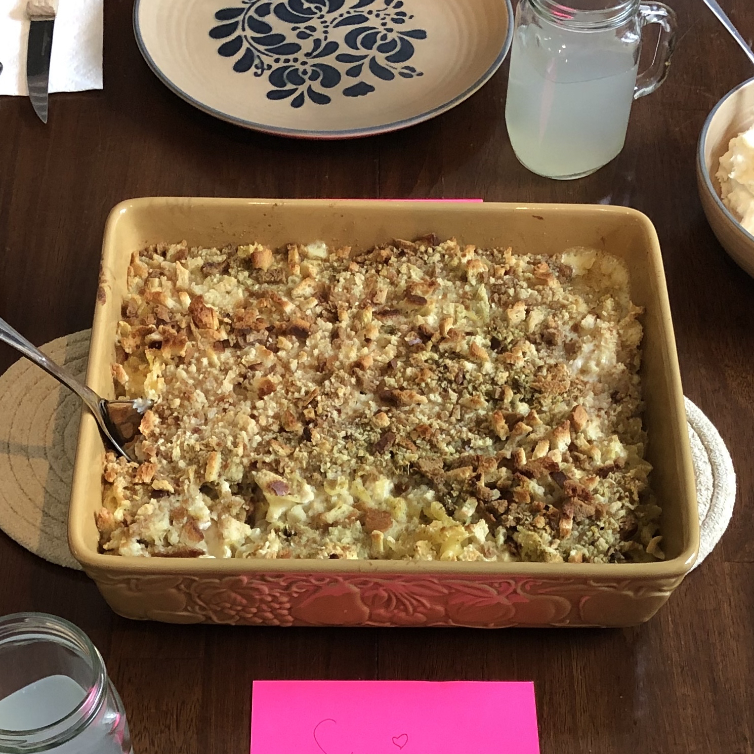Quick and Easy Chicken and Stuffing Casserole Rebecca Slahta