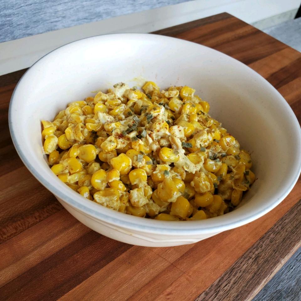 Quick Creamed Curried Corn Tammy Lynn