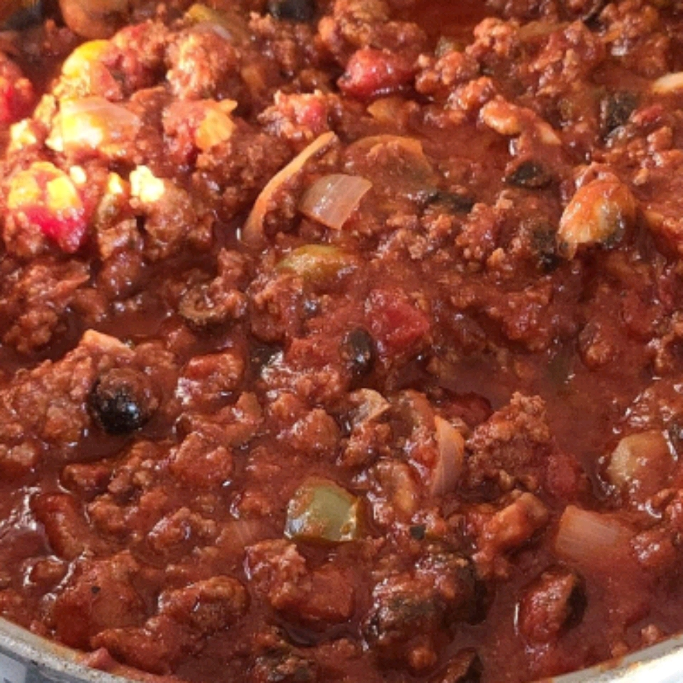 Spaghetti Sauce with Ground Beef Michelle