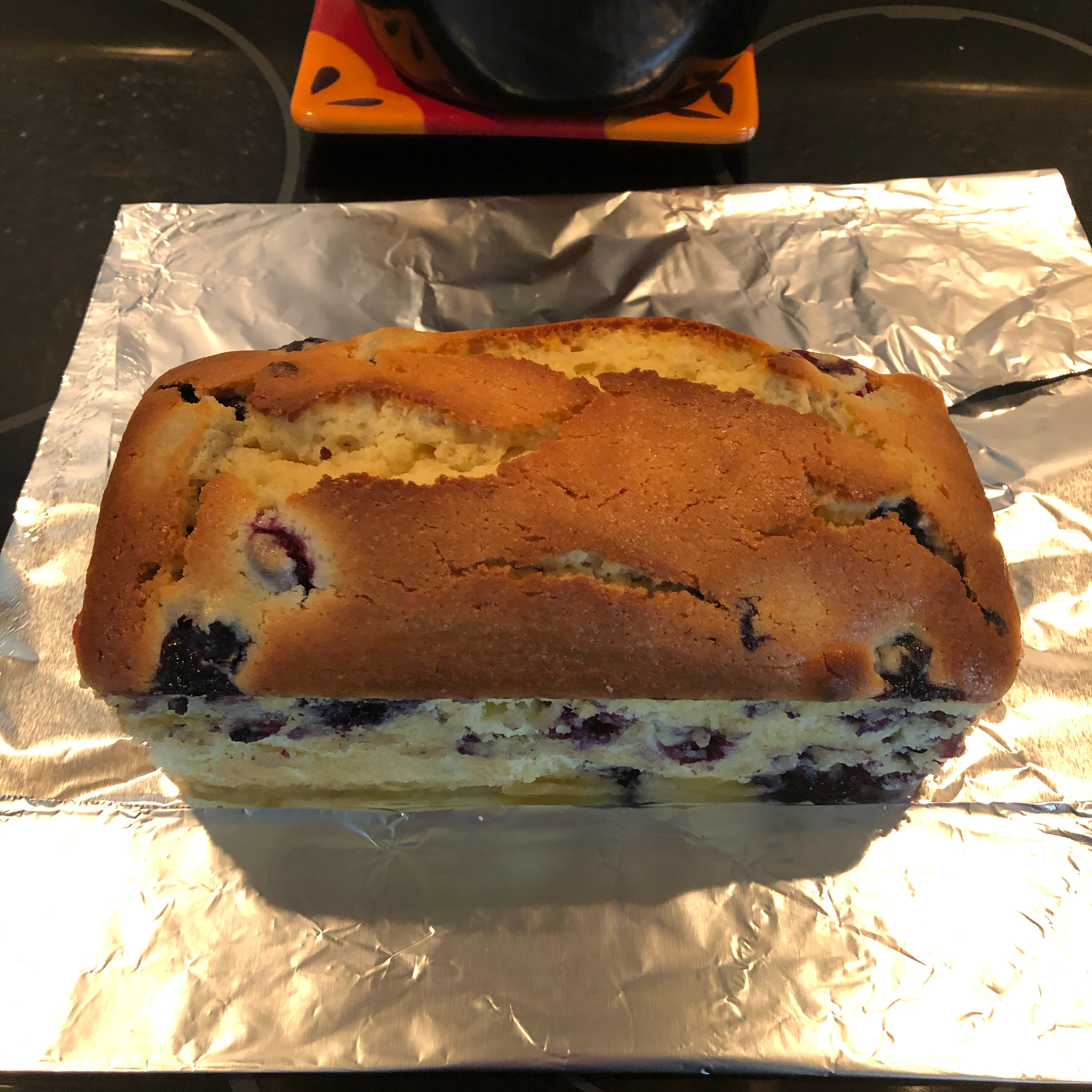 Lemon Blueberry Bread fwankendawg