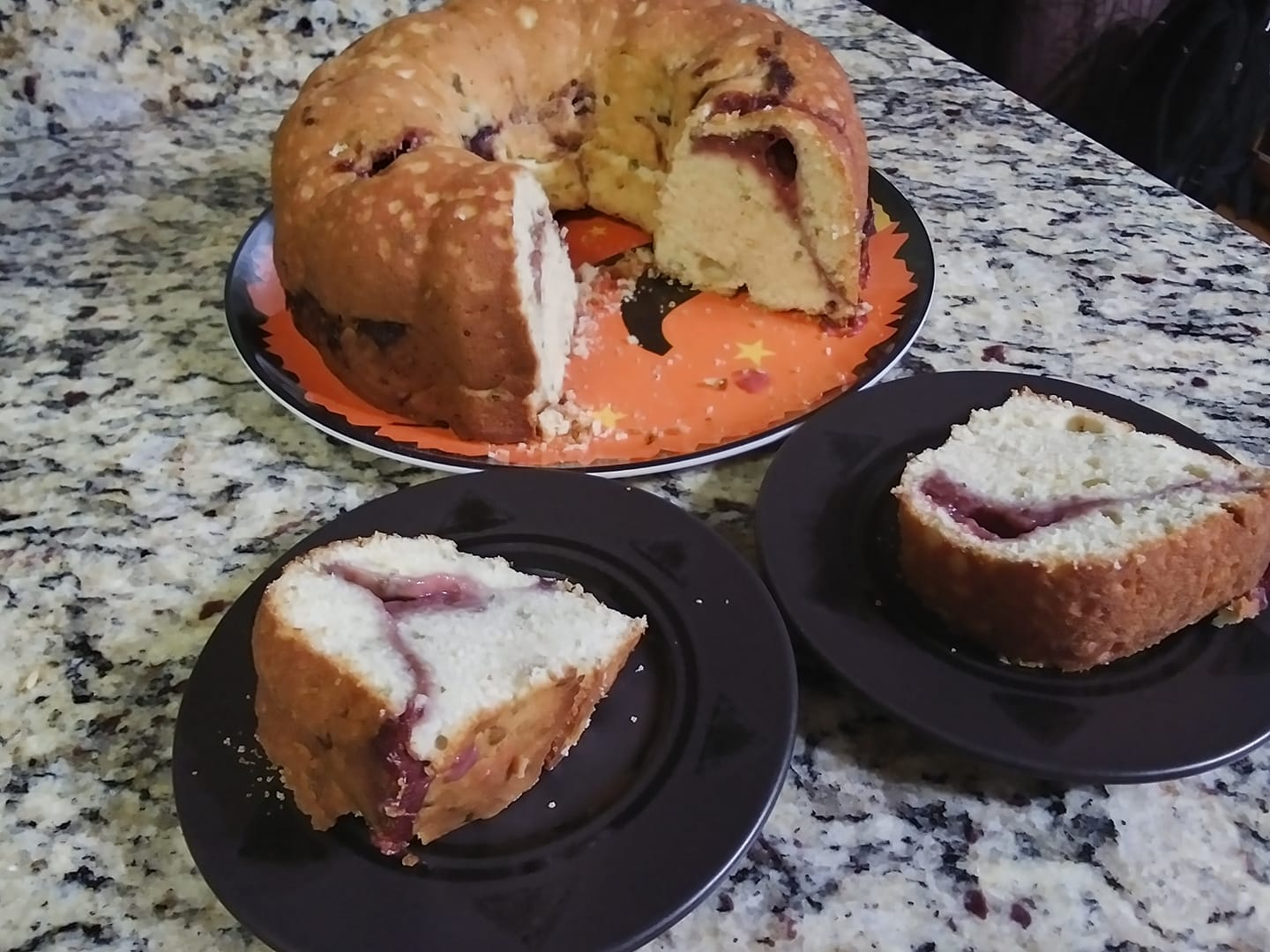 Lime-Mint Pound Cake with Strawberry Filling montana mom