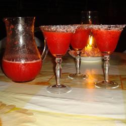Frozen Strawberry Margarita Happily Angry Cooker