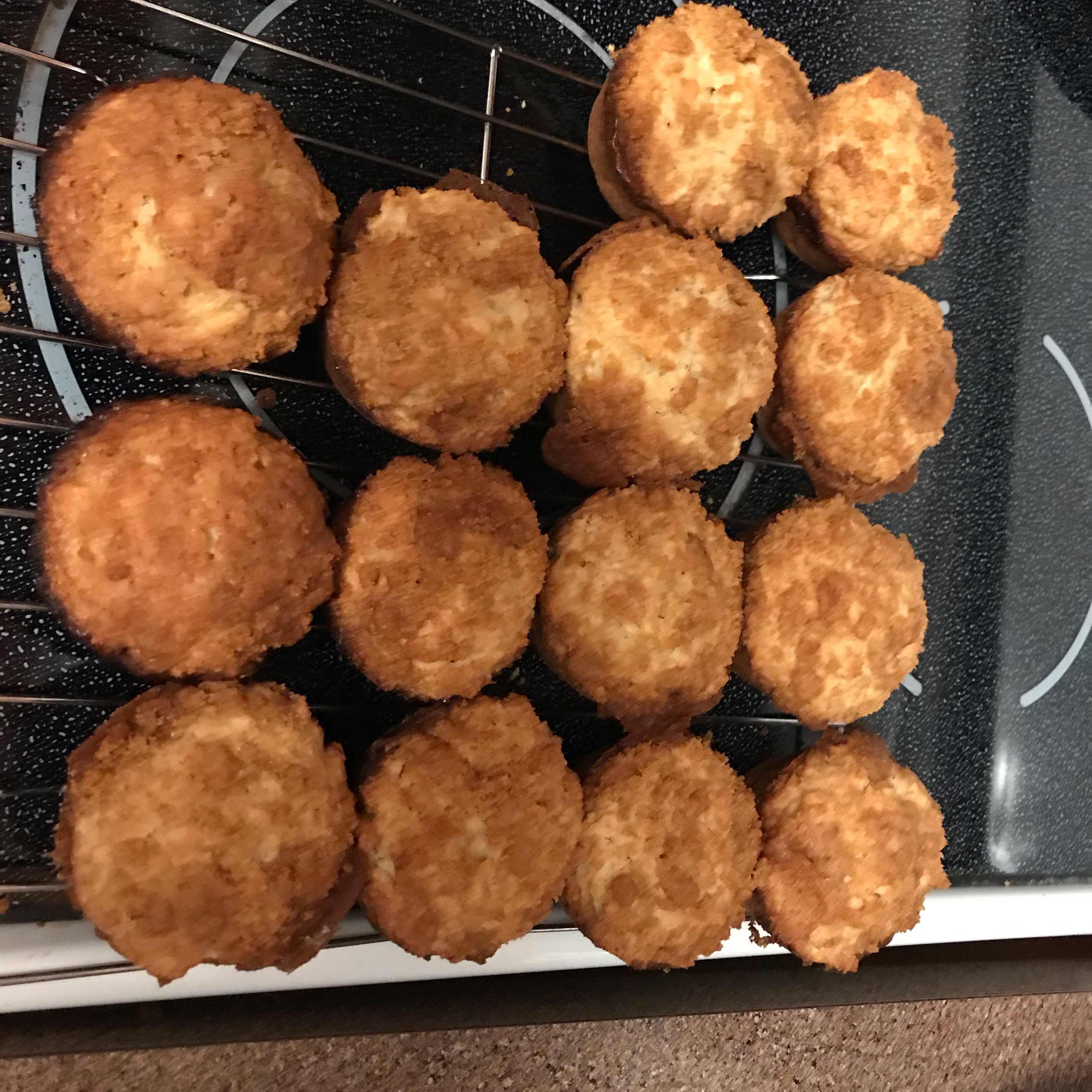 Apple Strudel Muffins Amanda Fox