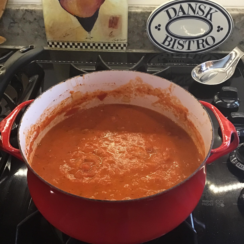 Tomato Dill Soup 04562