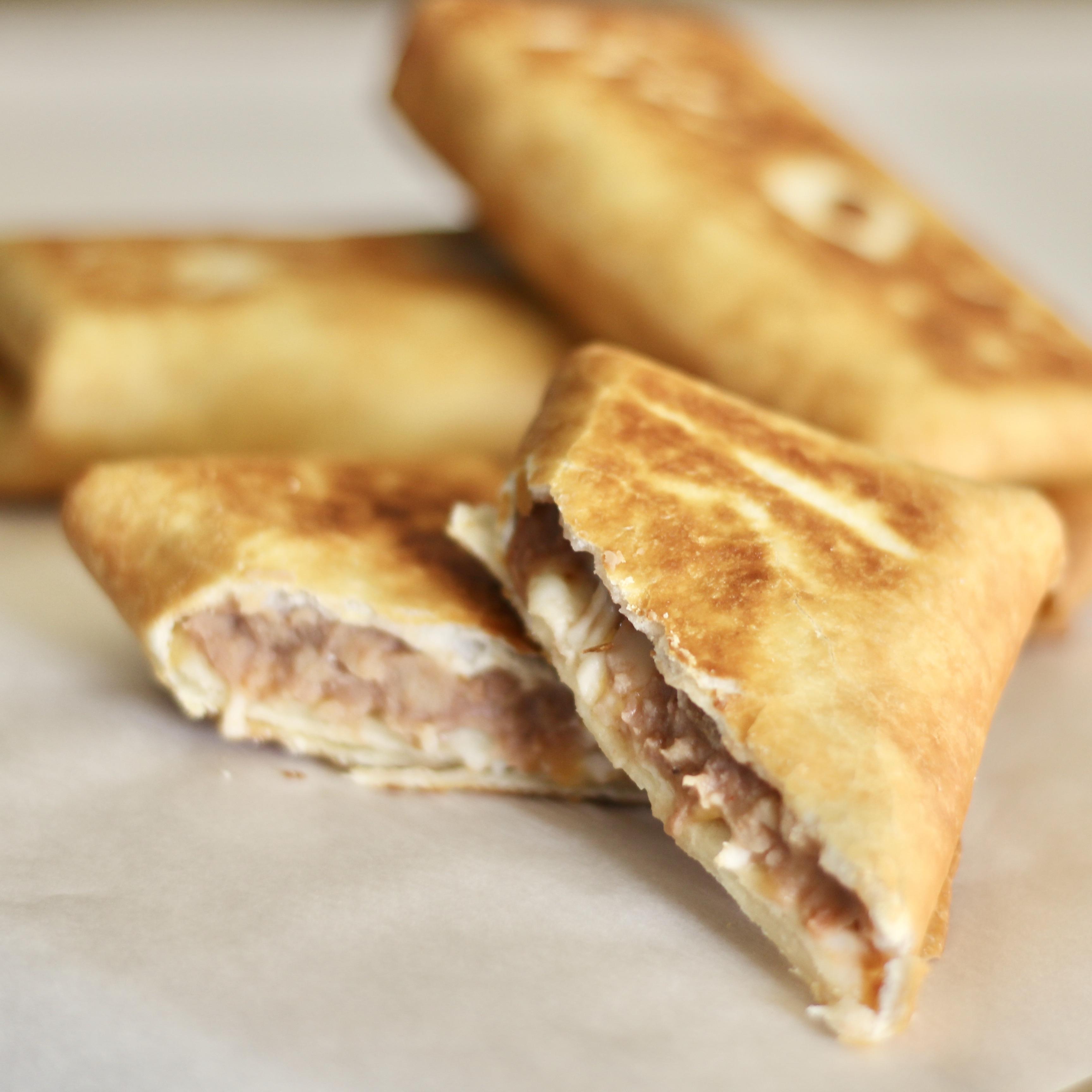 Crispy Bean and Cheese Burritos SunnyDaysNora