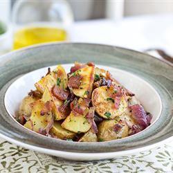 Smoky Potato Salad with Bacon