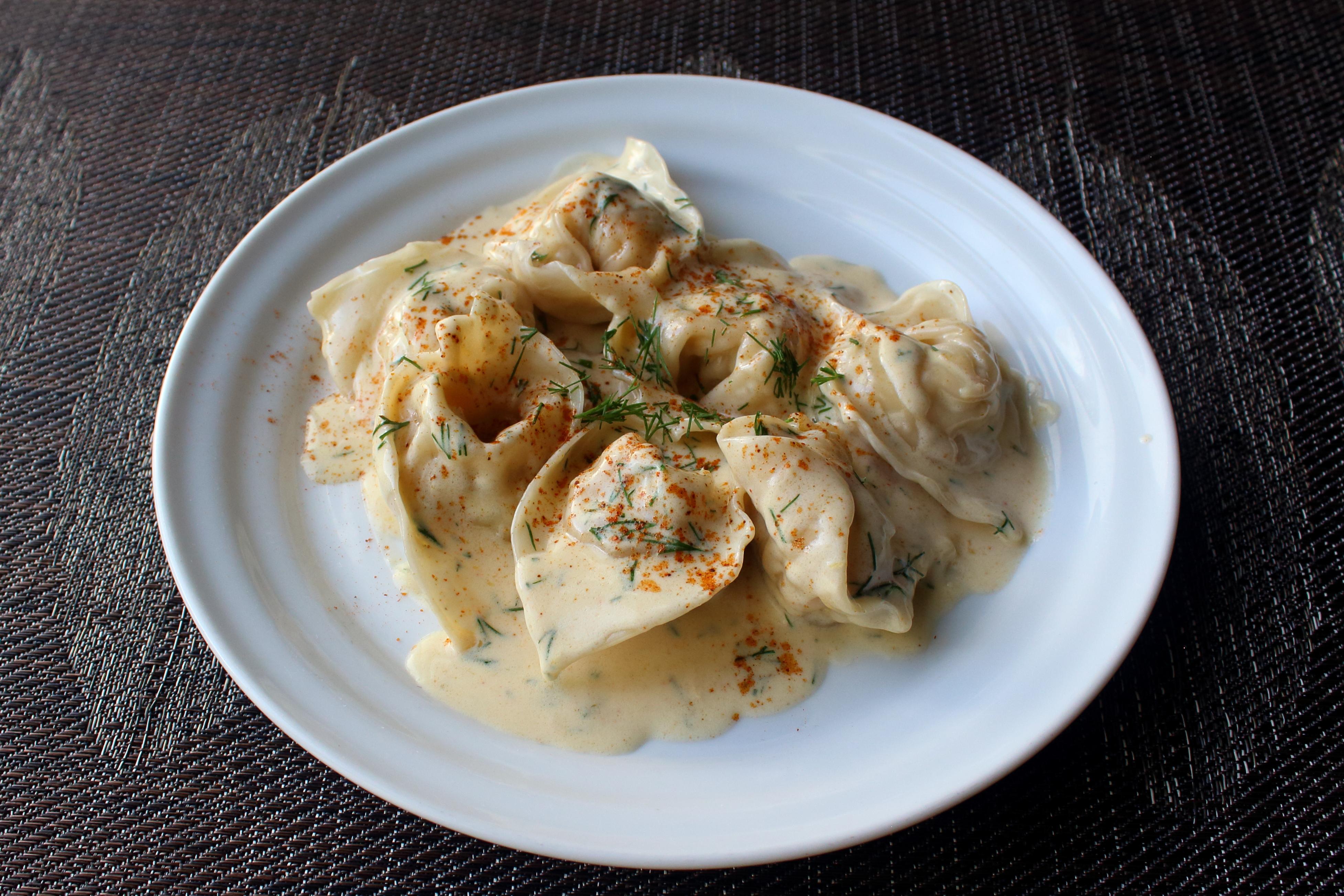 Easy Crab Tortellini