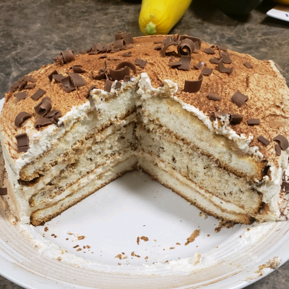 Tiramisu Layer Cake Twisted2u