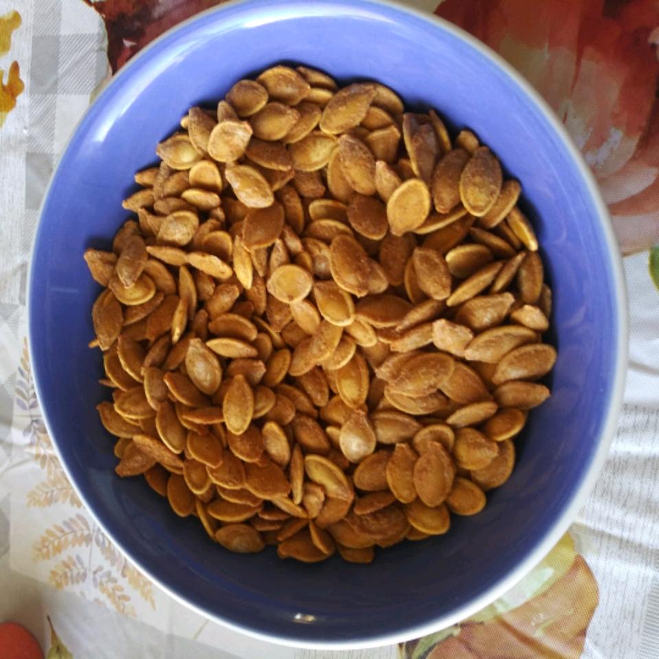 Spicy Roasted Pumpkin Seeds Matthew Theisen