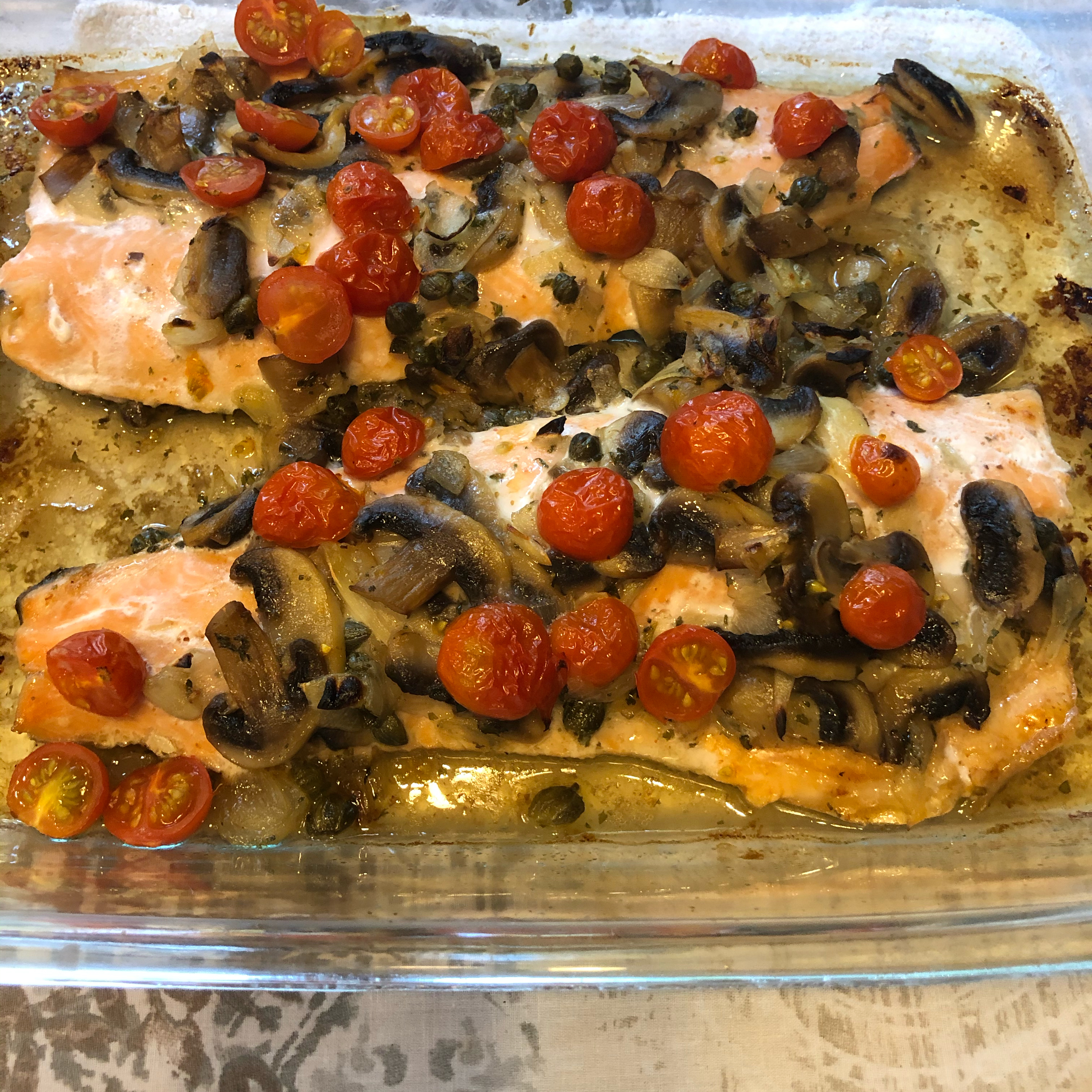Baked Trout Fillets kristi c
