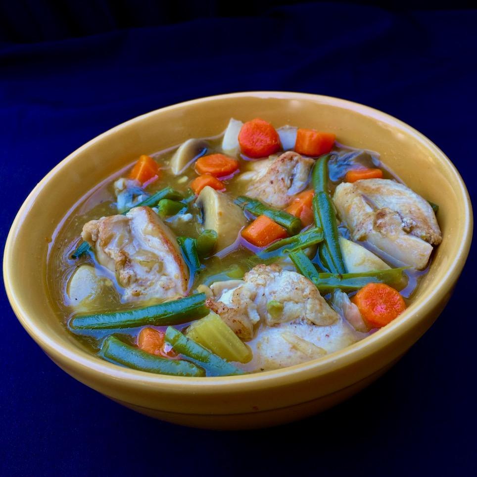 Oven-Braised Chicken Stew