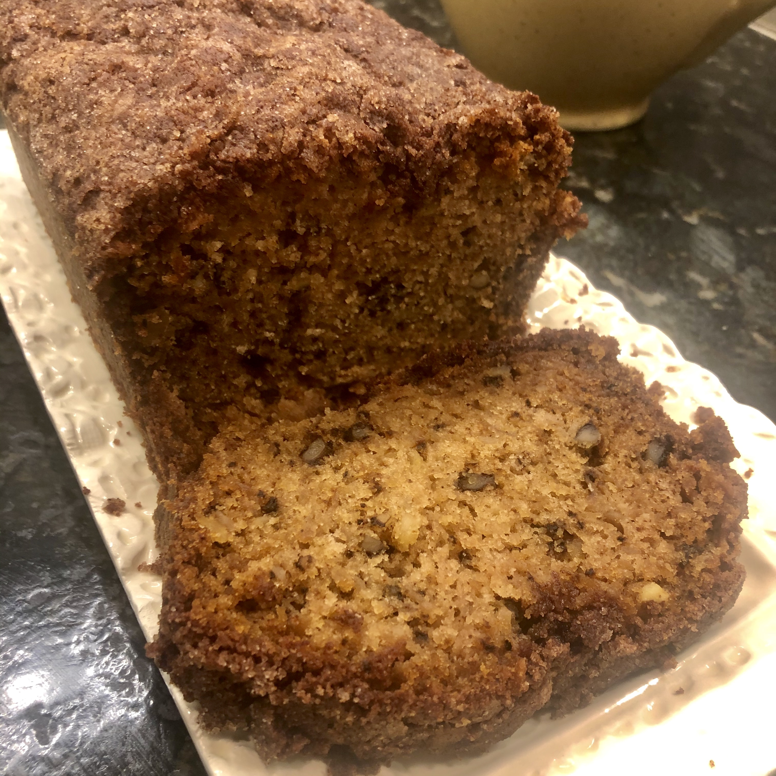 Apple Bread with Double Streusel