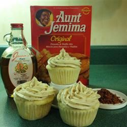 Pancake Cupcakes with Maple Bacon Buttercream Frosting Tom Wilson