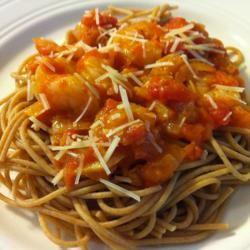 Shrimp with Spicy Tomato Sauce Katie Compton