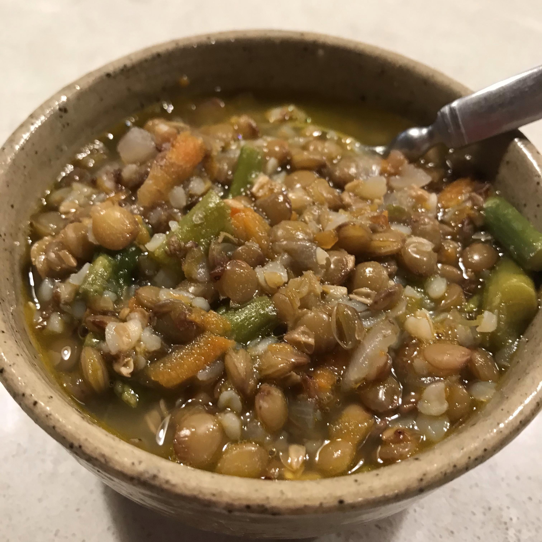 Lentil and Buckwheat Soup GerryKFlagstaff